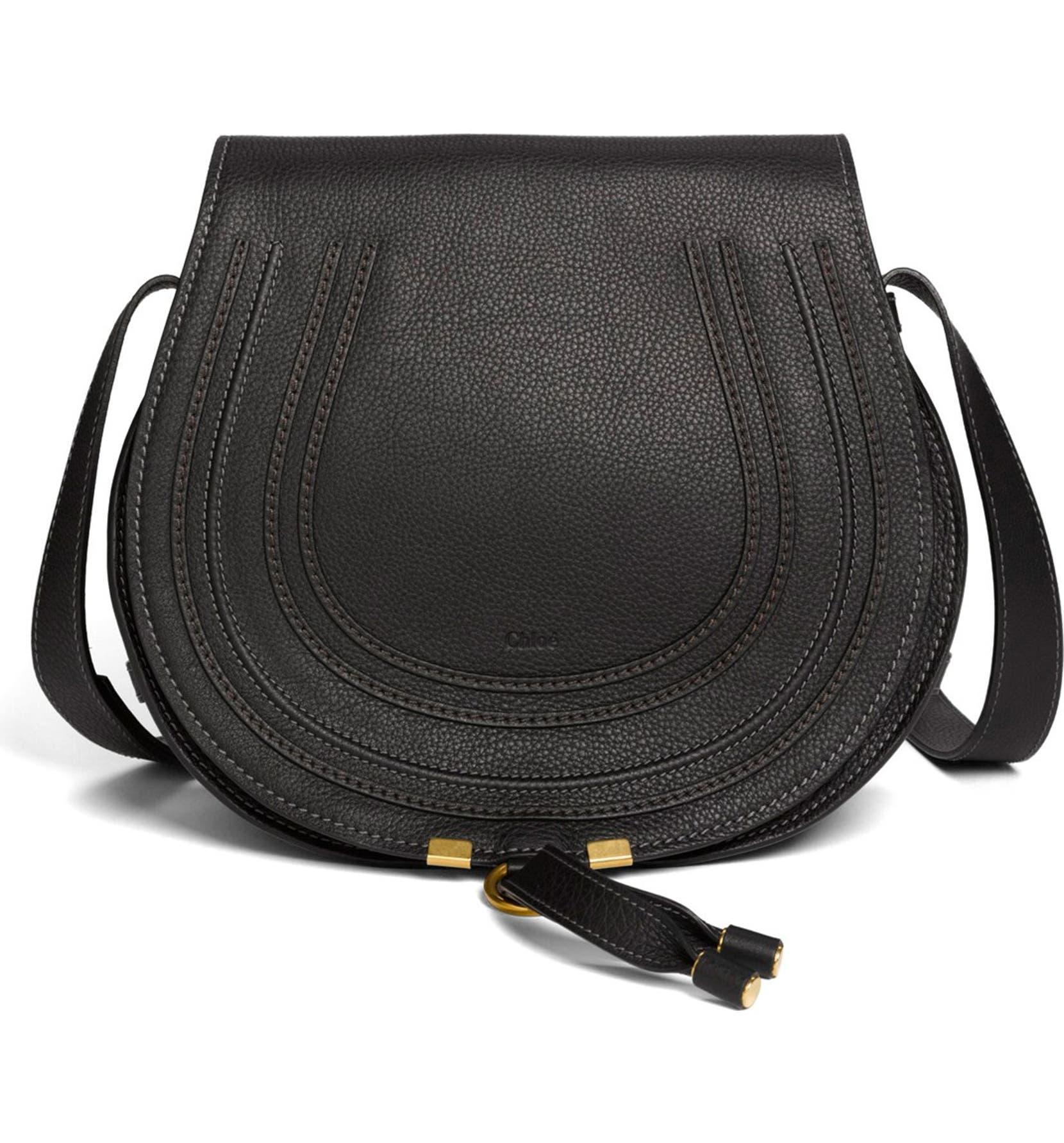 Chloé  Marcie - Medium  Leather Crossbody Bag   Nordstrom 3511720817
