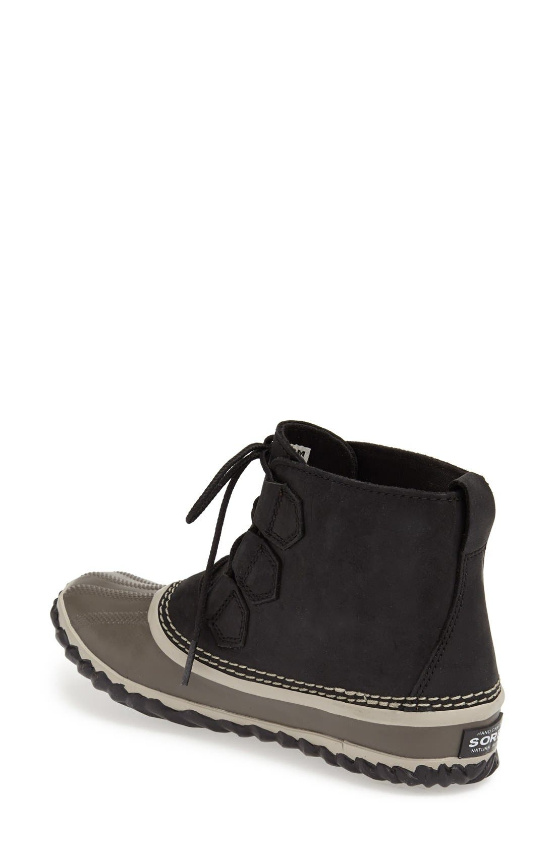 'Out N About' Leather Boot,                             Alternate thumbnail 15, color,