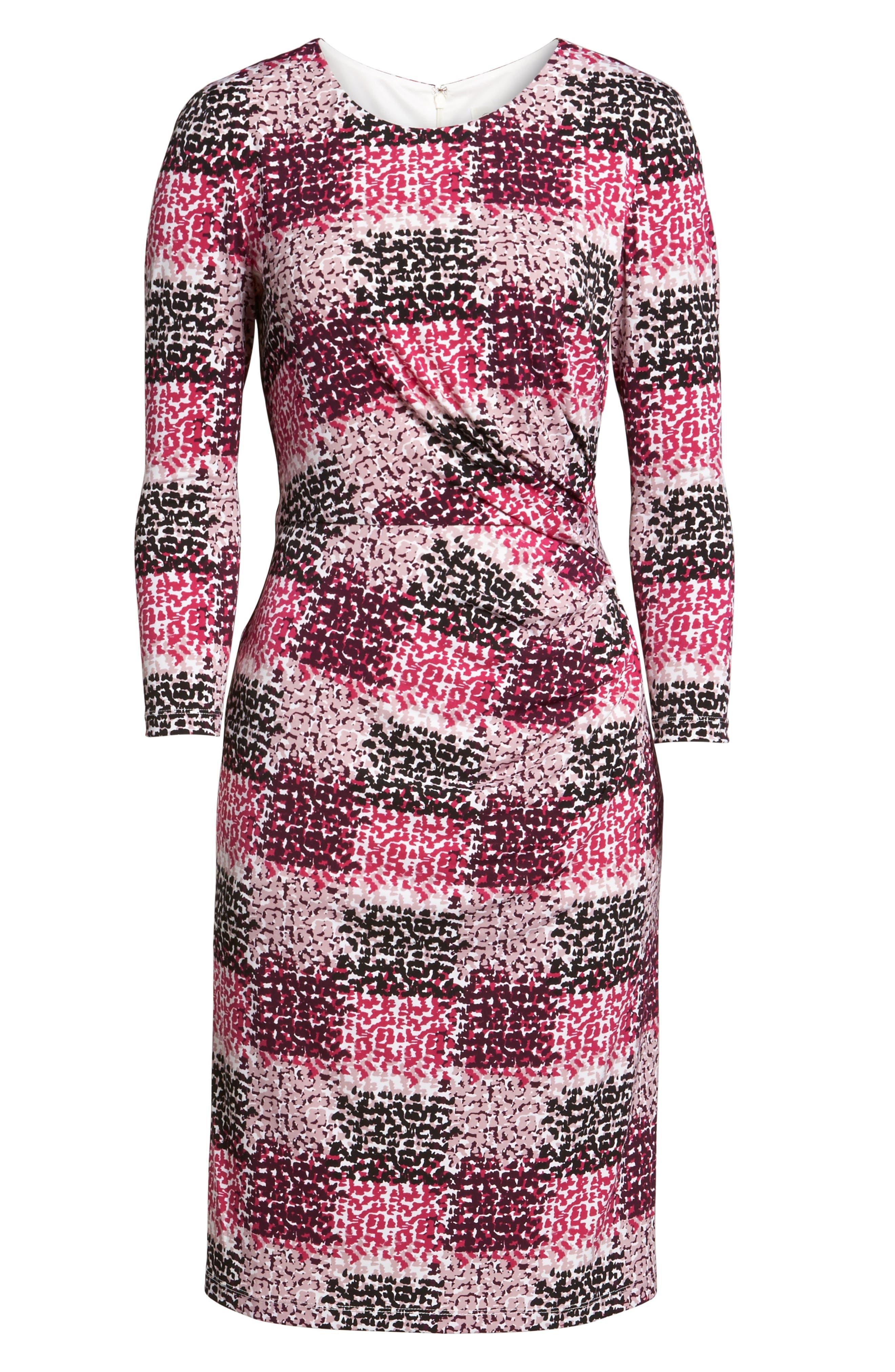 Jersey Sheath Dress,                             Alternate thumbnail 6, color,                             405
