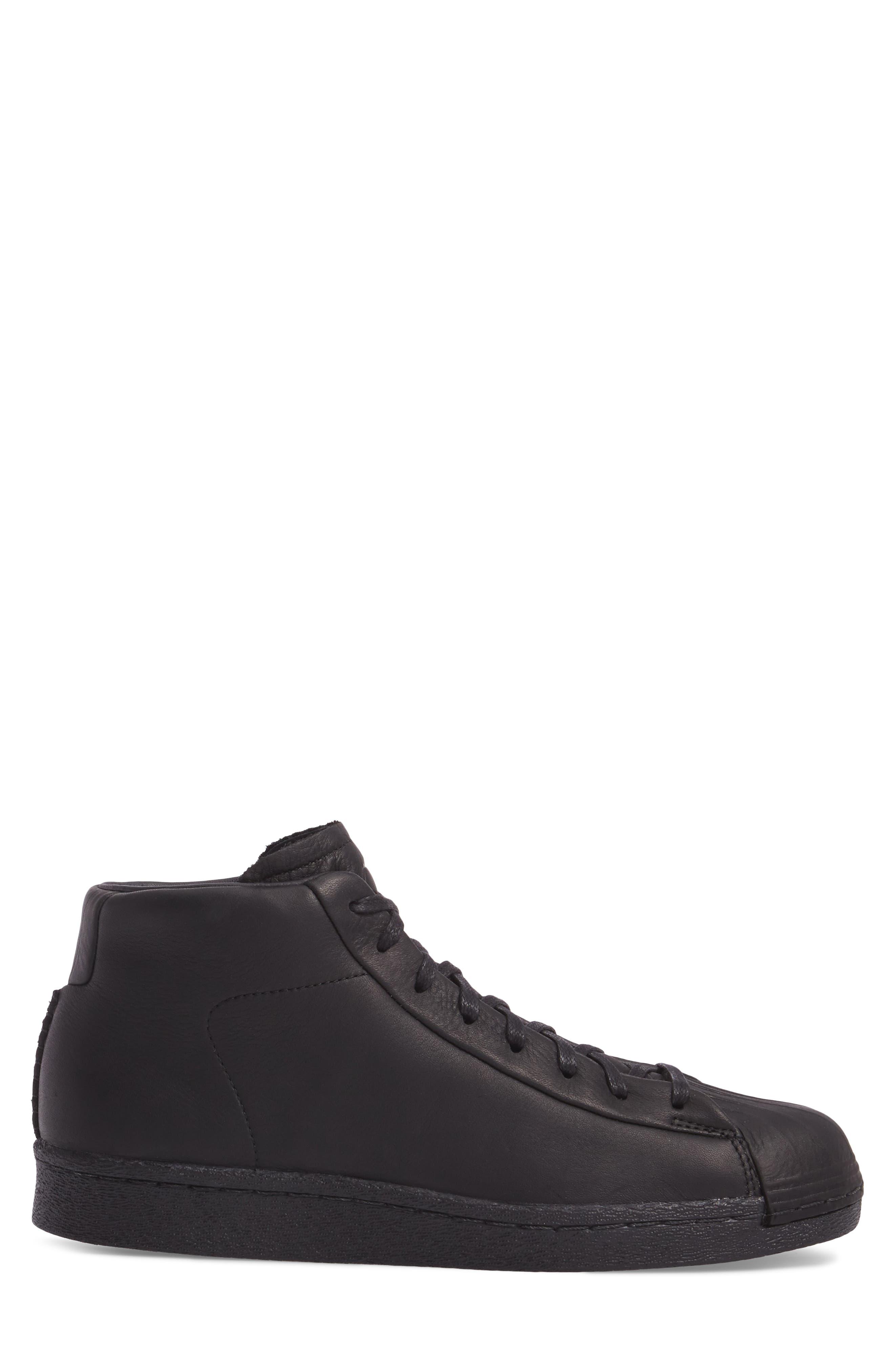 High-Top Sneaker,                             Alternate thumbnail 3, color,                             001