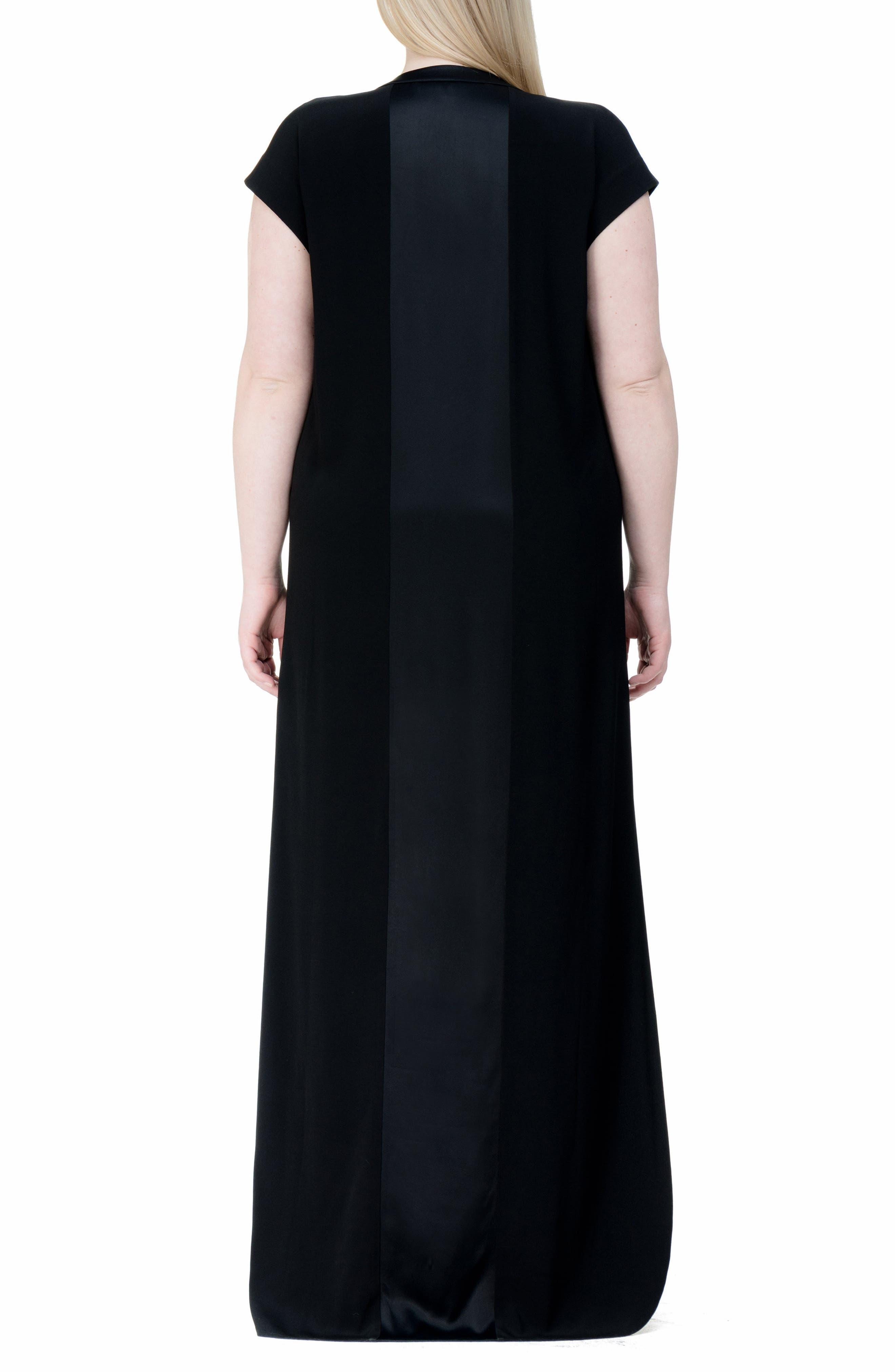 Winsett A-Line Gown,                             Alternate thumbnail 2, color,                             001