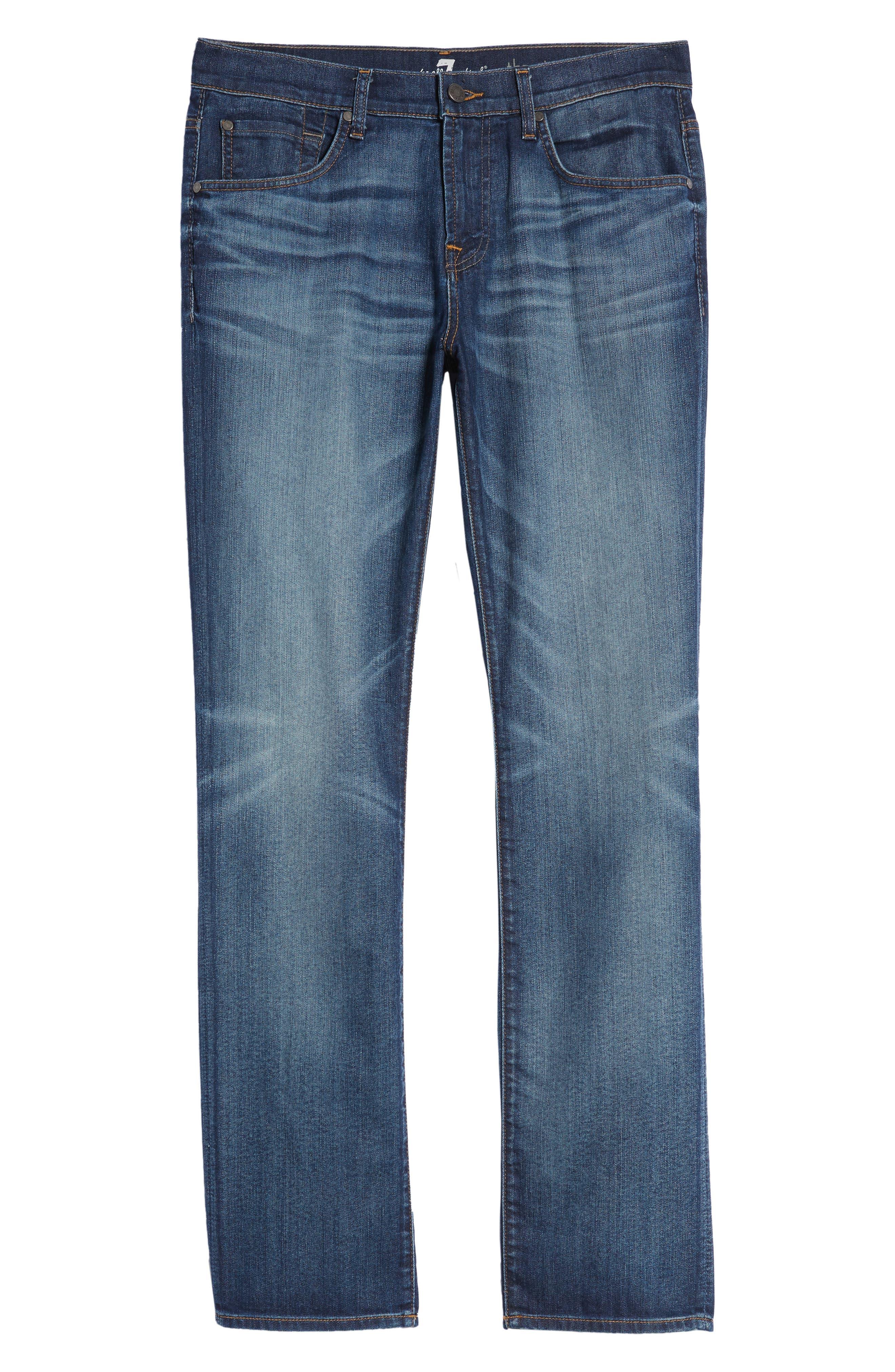 The Straight Slim Straight Leg Jeans,                             Alternate thumbnail 6, color,                             RECON