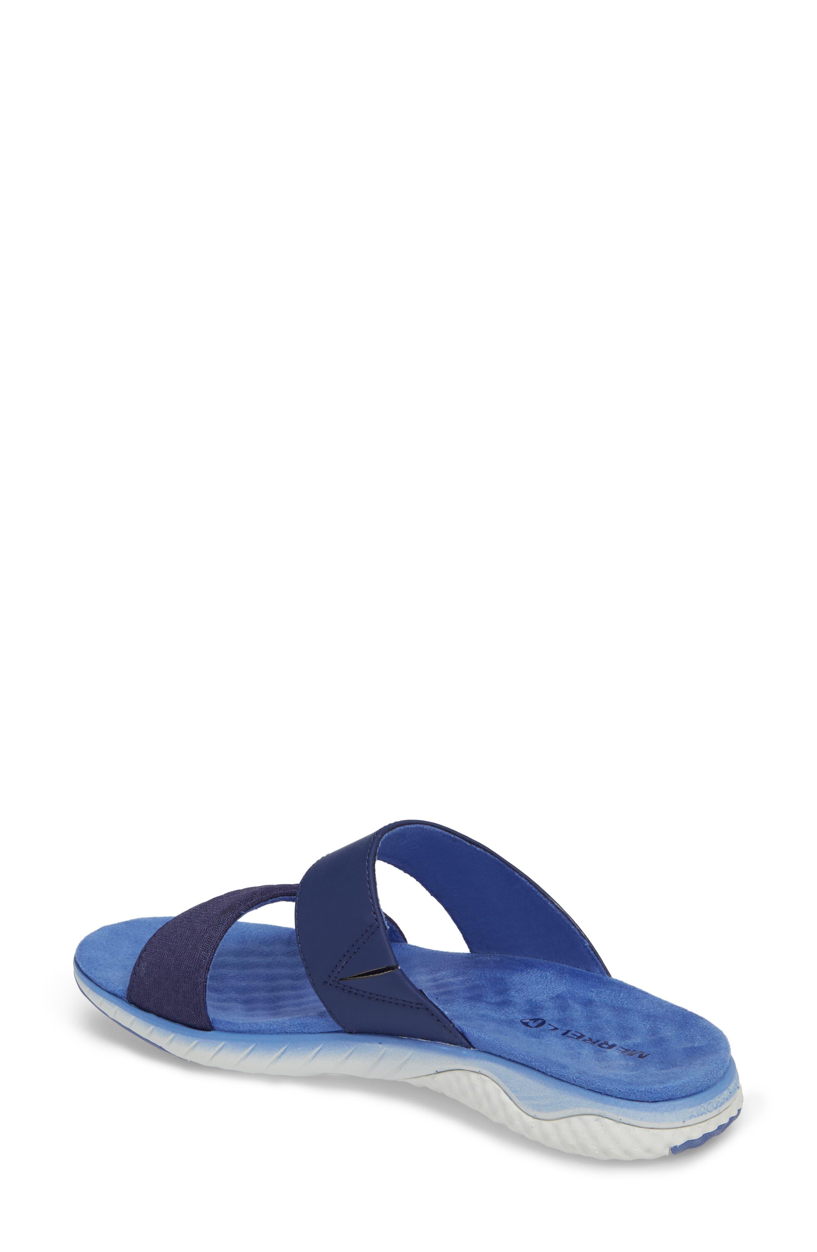 1SIX8 Linna Air Cushion+ Slide Sandal,                             Alternate thumbnail 7, color,