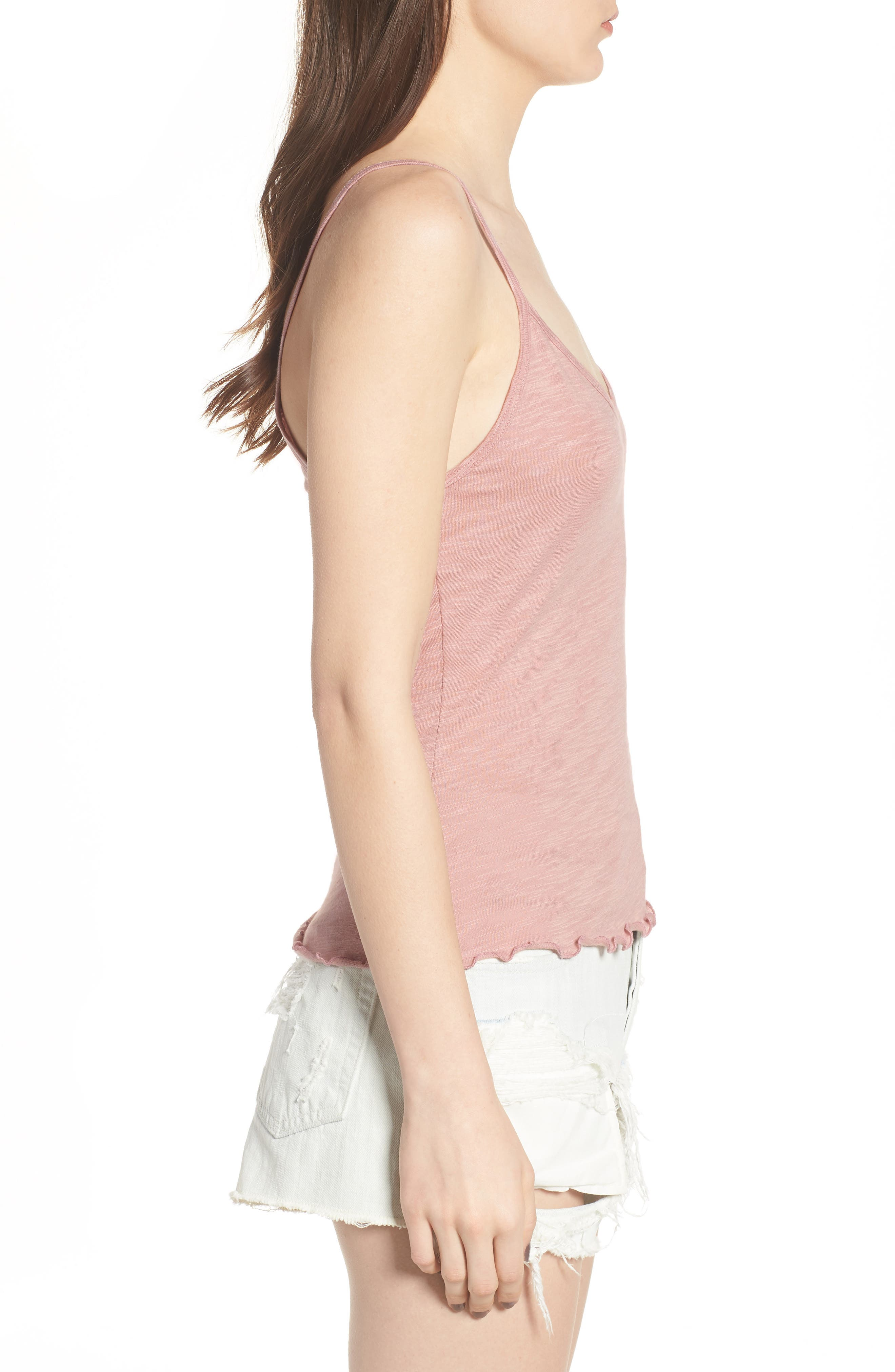 Lettuce Hem Camisole,                             Alternate thumbnail 6, color,