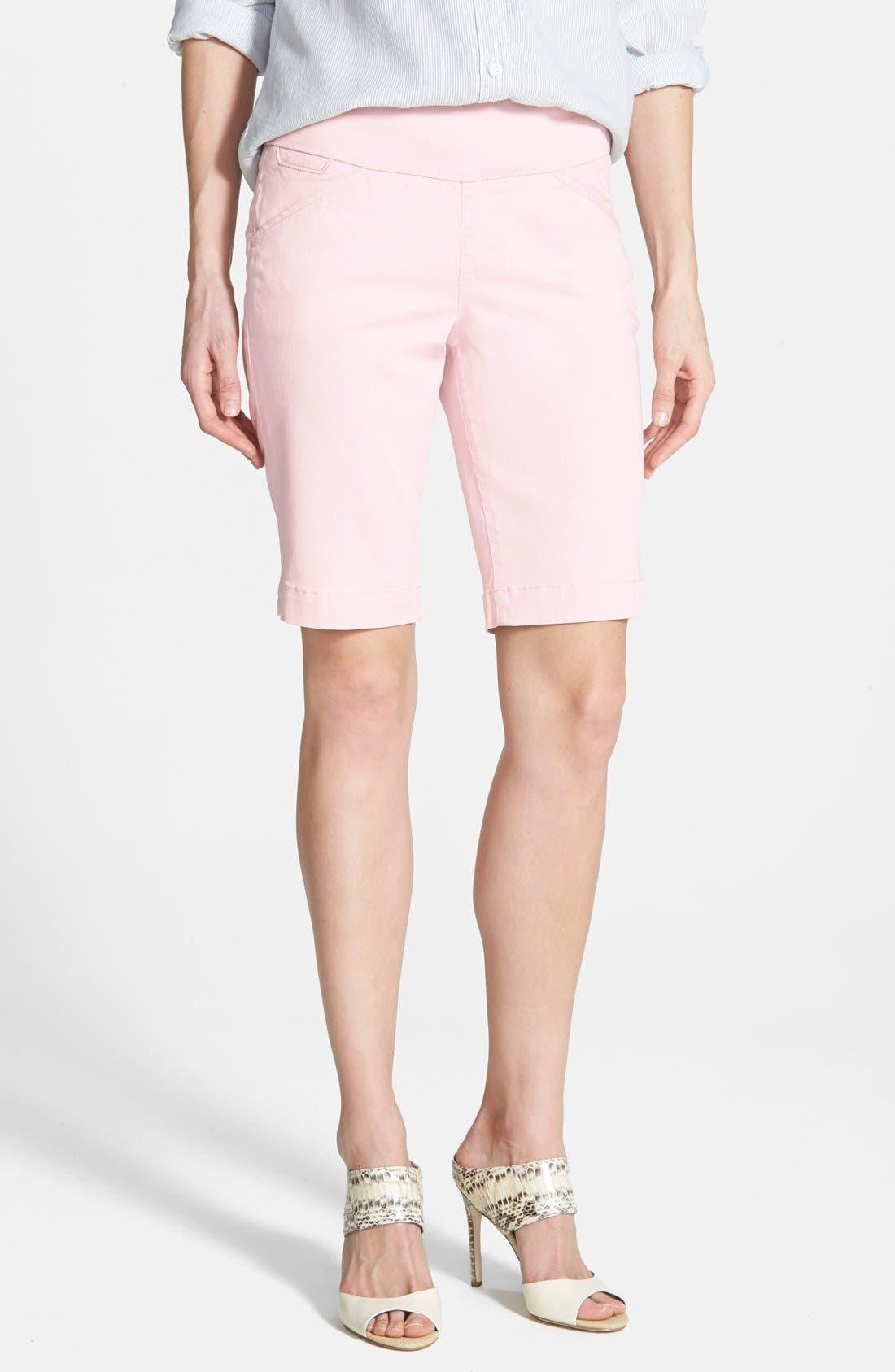 'Ainsley' Slim Bermuda Shorts,                             Main thumbnail 12, color,