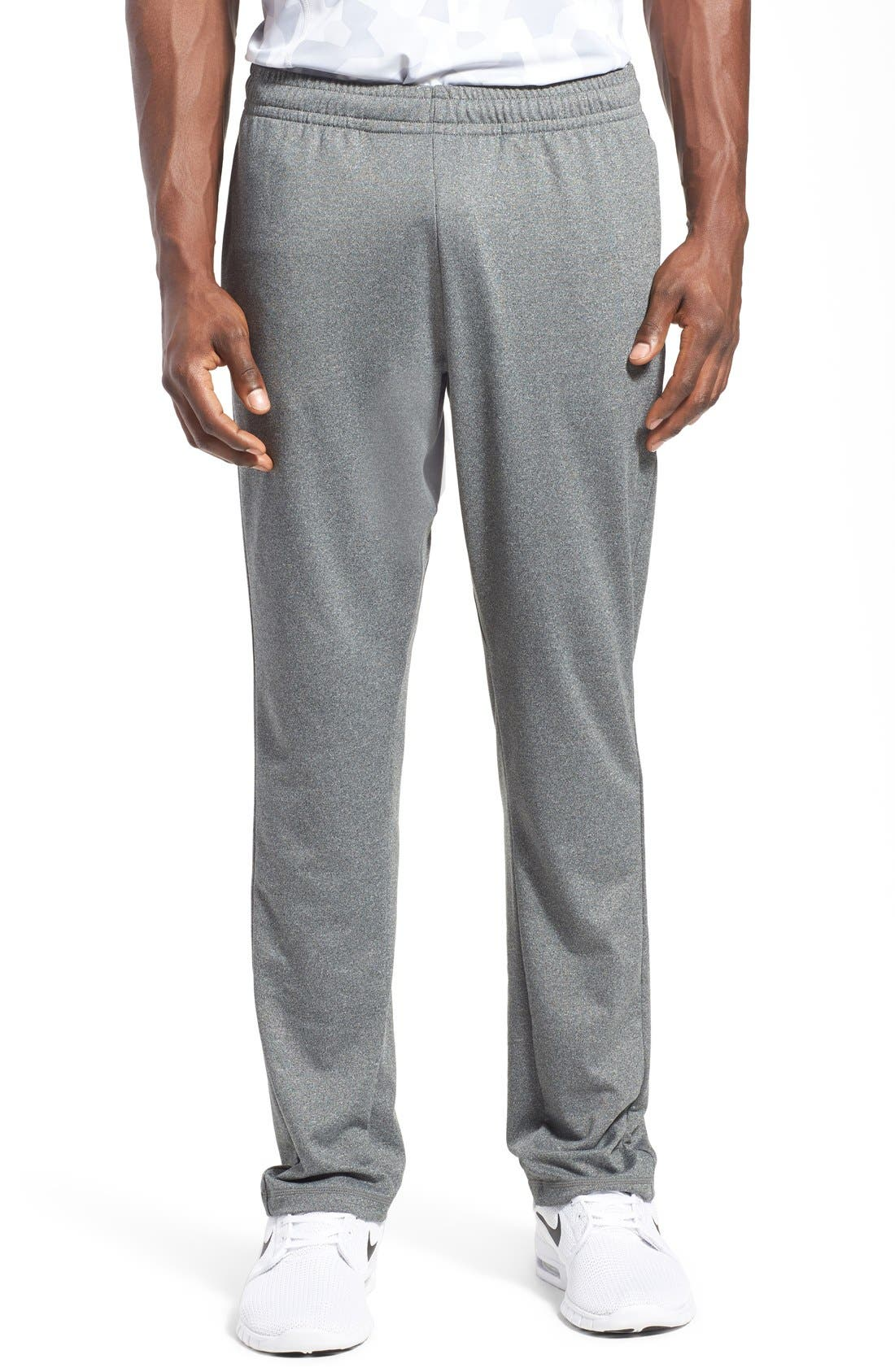 'Pyrite' Tapered Fit Knit Athletic Pants,                             Main thumbnail 1, color,                             GREY OBSIDIAN