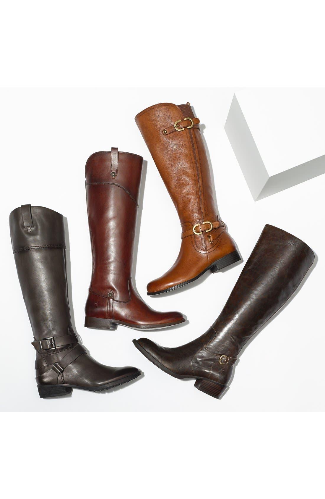'Jennings' Knee High Boot,                             Alternate thumbnail 5, color,                             001