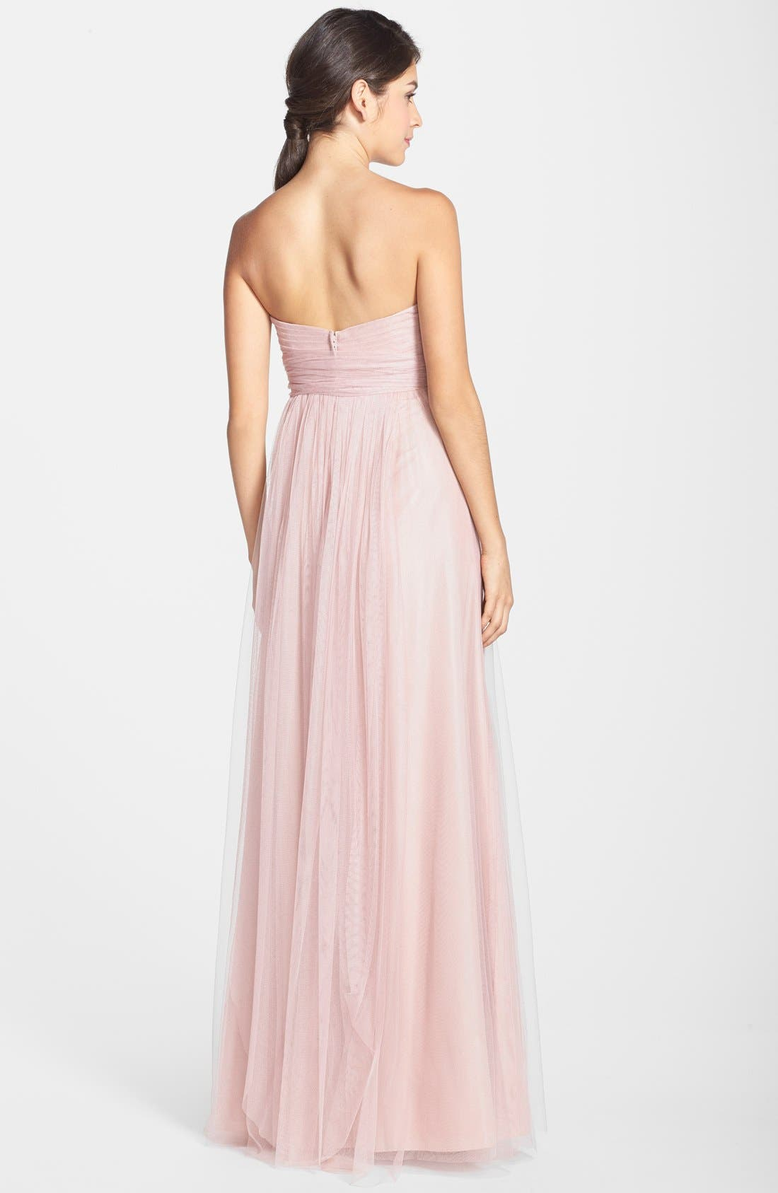 Annabelle Convertible Tulle Column Dress,                             Alternate thumbnail 152, color,