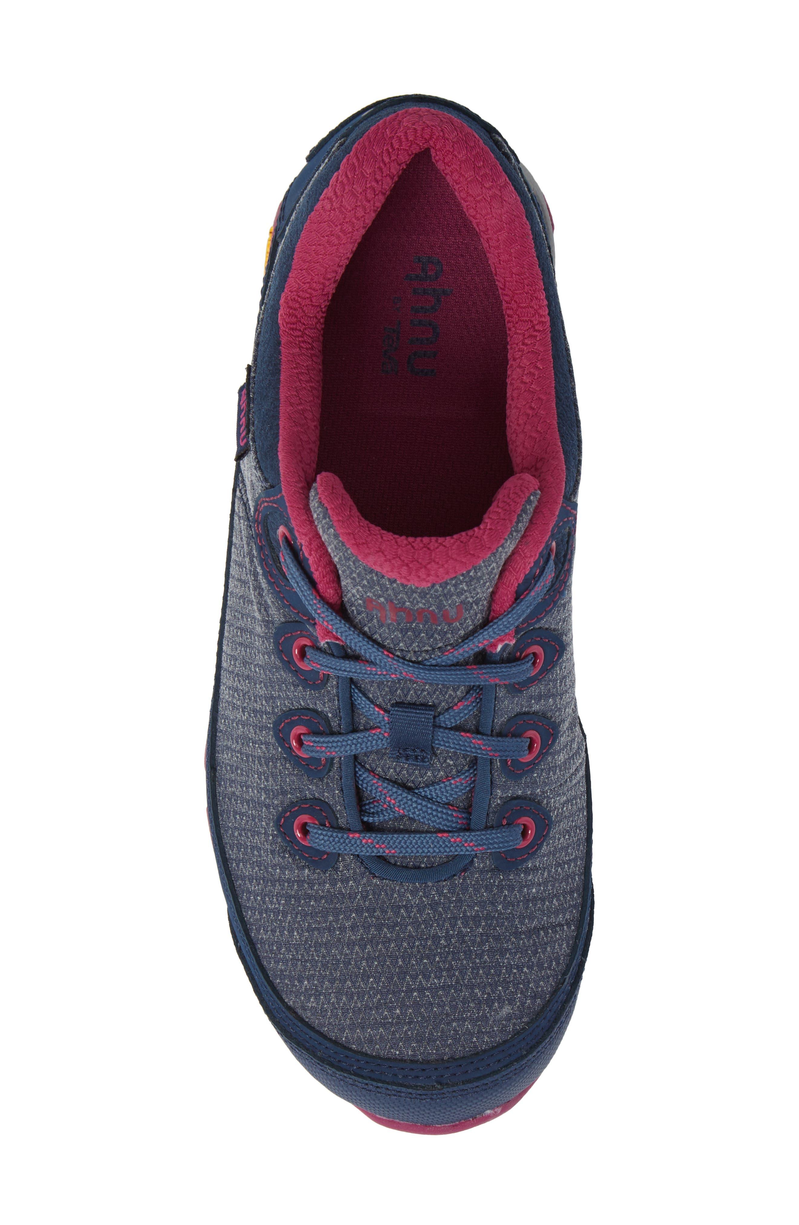 Ahnu by Teva Sugarpine II Waterproof Hiking Sneaker,                             Alternate thumbnail 5, color,                             INSIGNIA BLUE