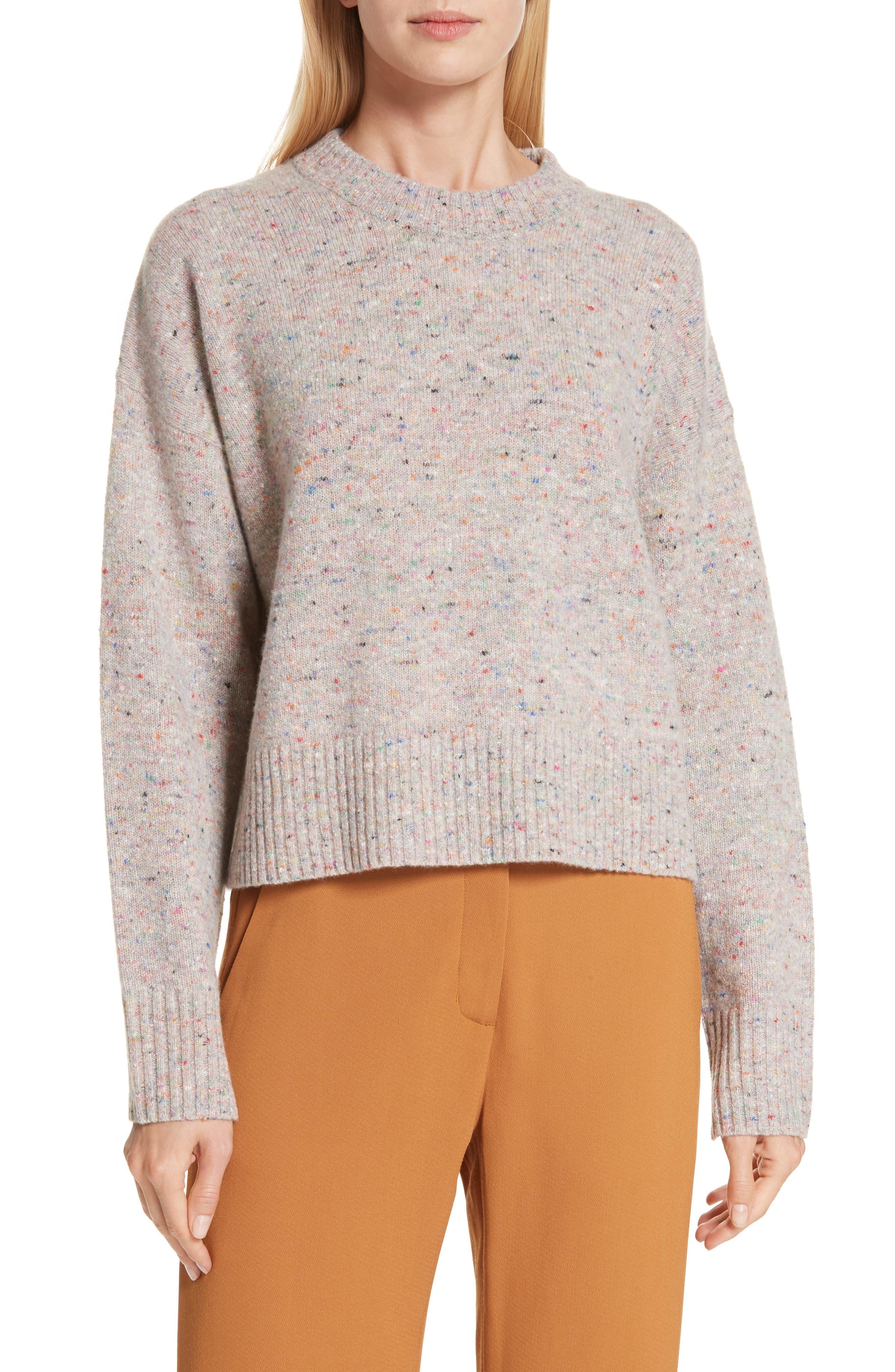 Emmeline Lambswool & Cashmere Blend Sweater, Main, color, MULTICOLOR