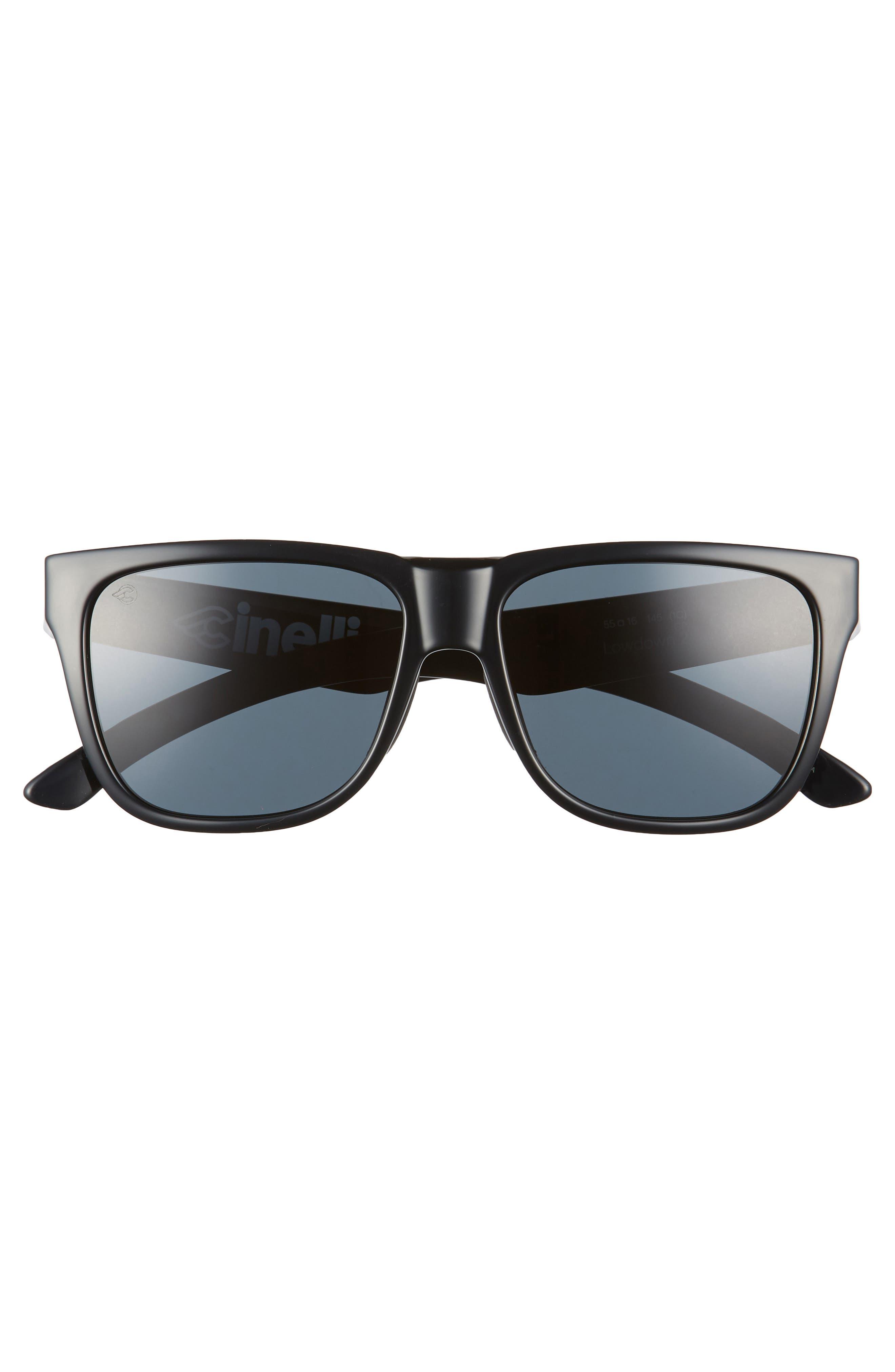 Lowdown 2 55mm ChromaPop<sup>™</sup> Square Sunglasses,                             Alternate thumbnail 3, color,                             CINELLI