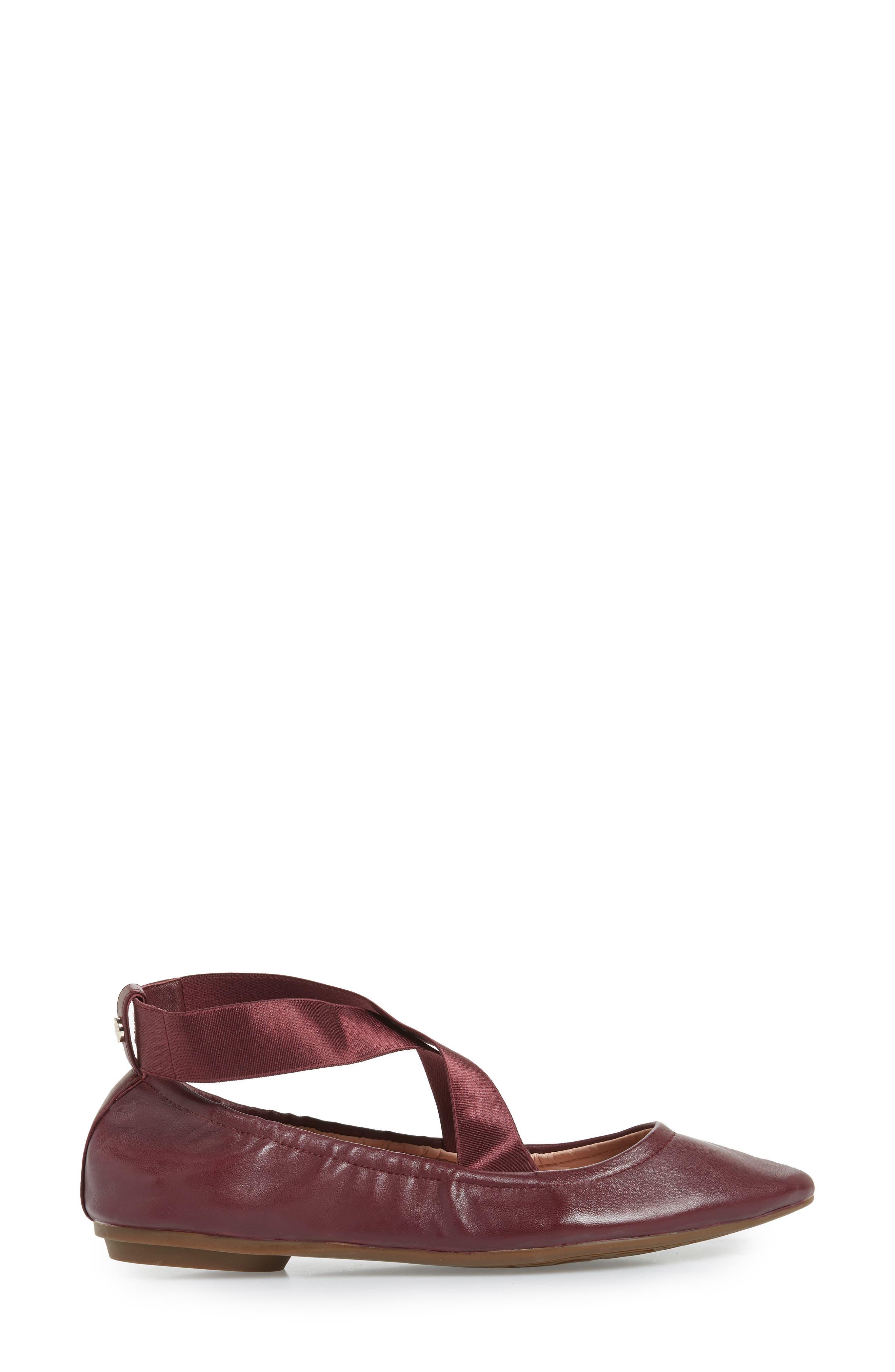 Edina Strappy Ballet Flat,                             Alternate thumbnail 15, color,