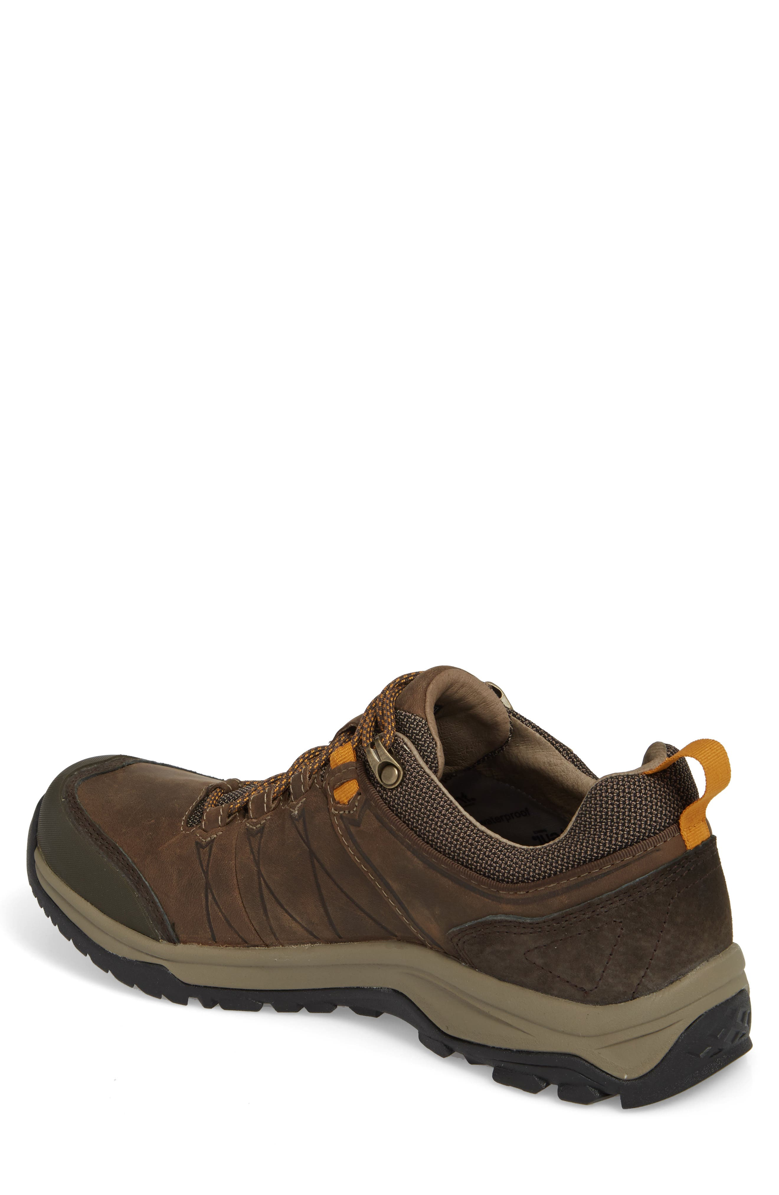 Arrowood Riva Waterproof Sneaker,                             Alternate thumbnail 2, color,                             WALNUT LEATHER