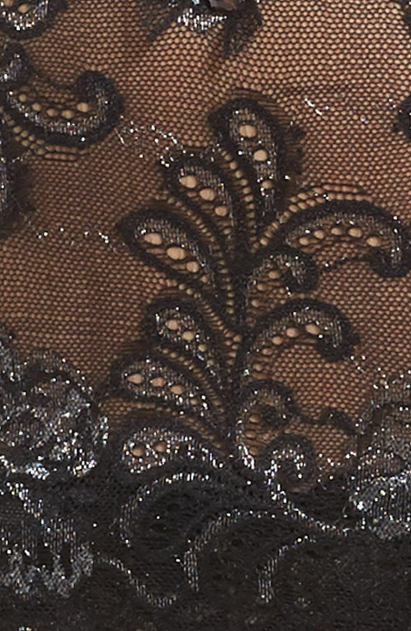 Le Mysère 'Sophia' Lace Garter Belt,                             Alternate thumbnail 11, color,