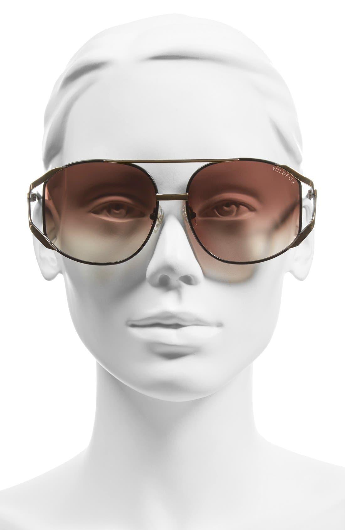 'Dynasty' 59mm Retro Sunglasses,                             Alternate thumbnail 2, color,                             007