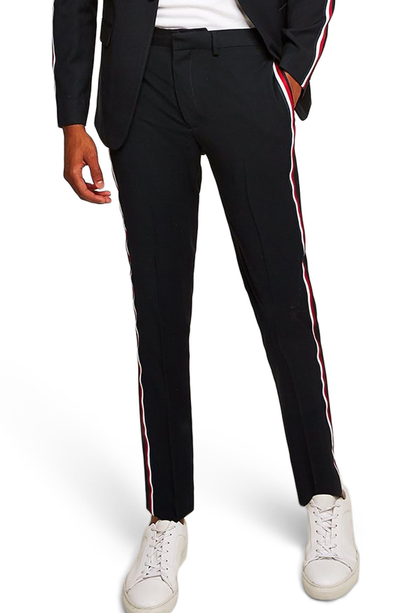 Stripe Pants,                             Main thumbnail 1, color,                             401