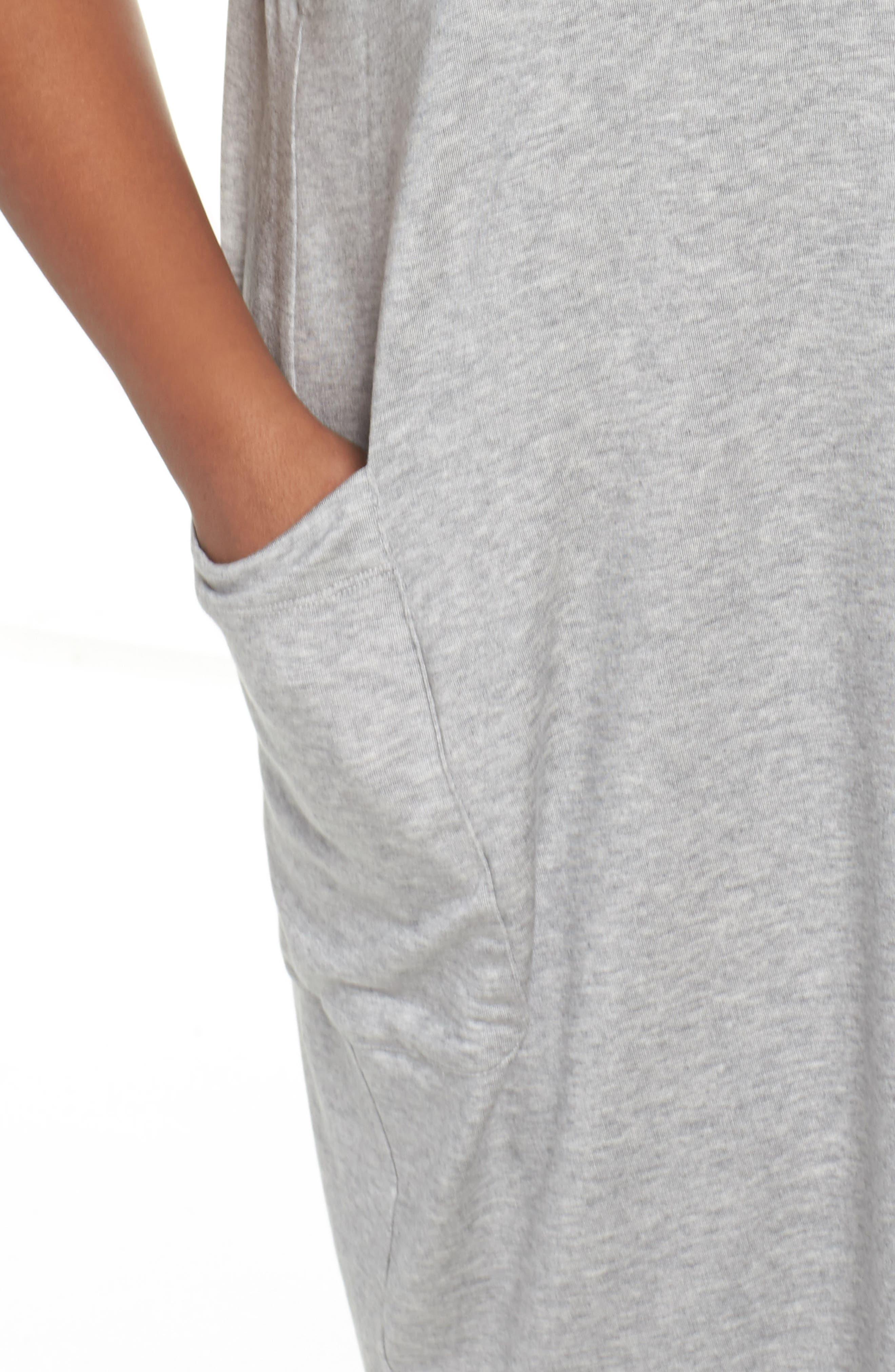 Stretch Tencel<sup>®</sup> Knit Jumper Dress,                             Alternate thumbnail 11, color,