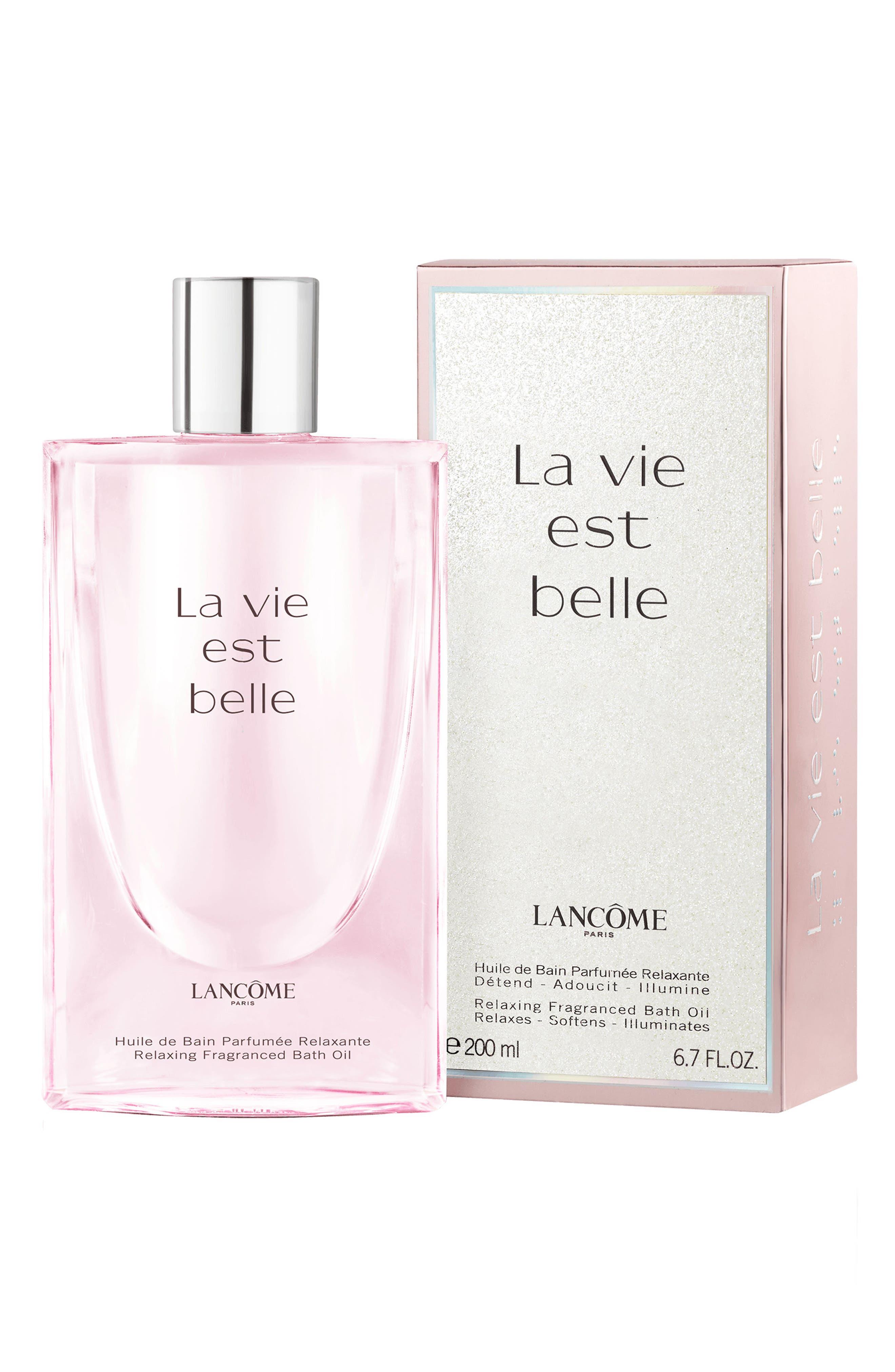 La Vie est Belle Relaxing Fragrance Bath Oil,                             Alternate thumbnail 3, color,                             NO COLOR