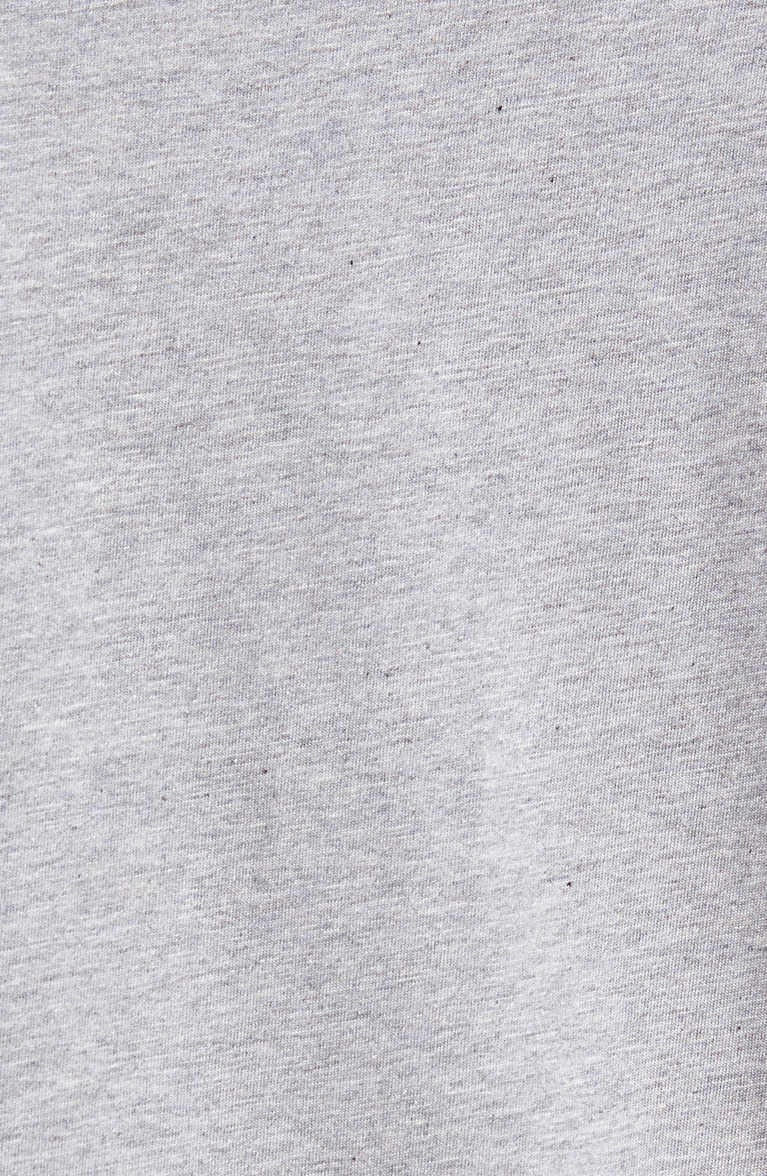 'Mapes' Graphic Pima Cotton T-Shirt,                             Alternate thumbnail 5, color,                             020