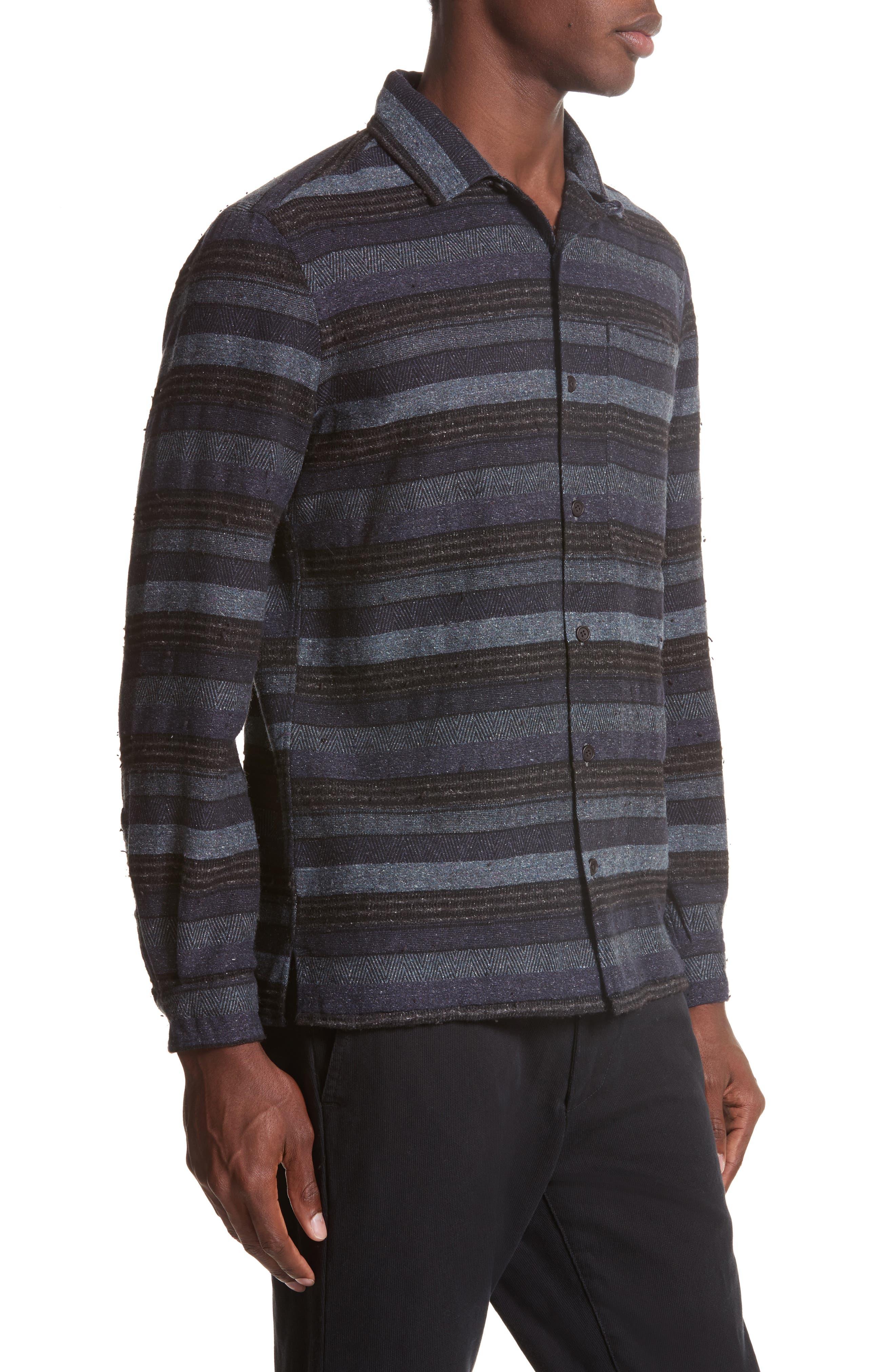 Napoli Mix Stripe Shirt,                             Alternate thumbnail 3, color,                             461