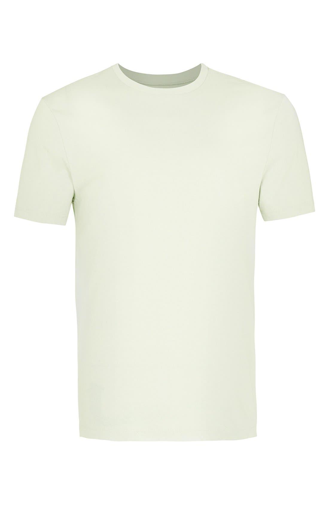 Slim Fit Crewneck T-Shirt,                             Alternate thumbnail 149, color,