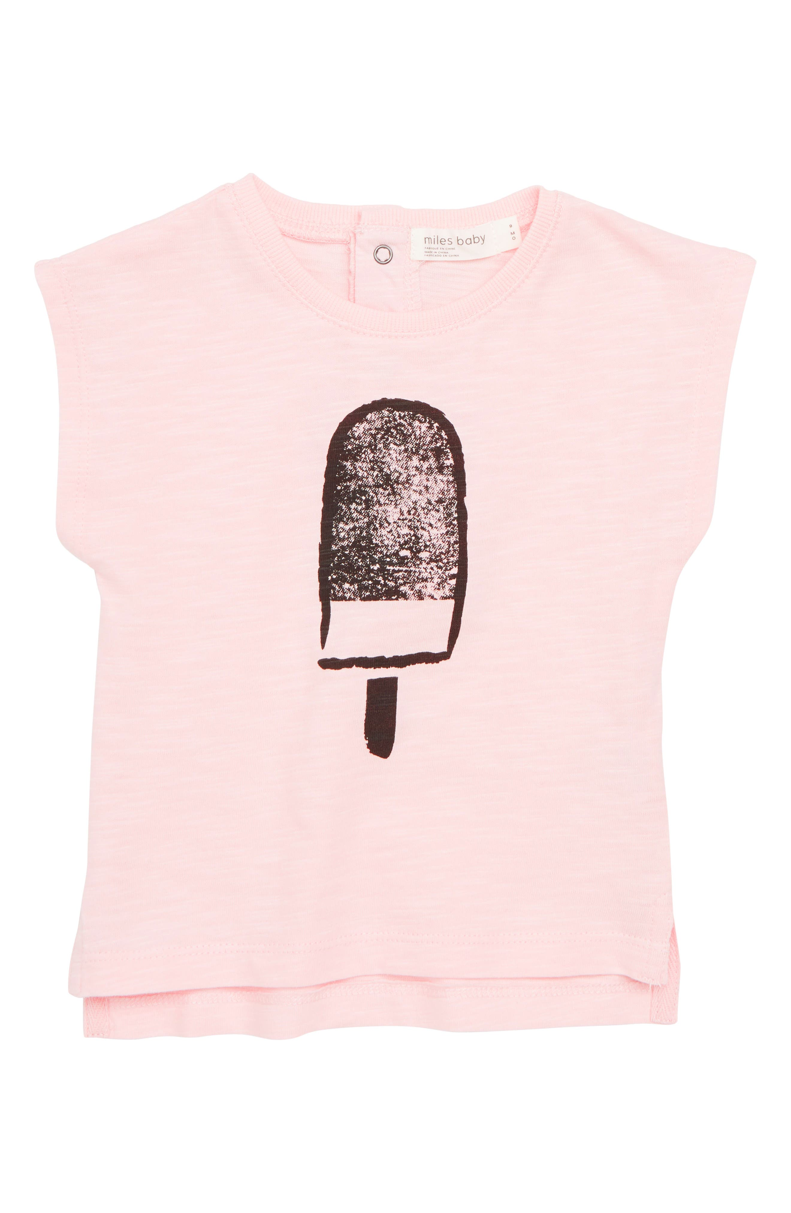MILES BABY Graphic Tee, Main, color, 680