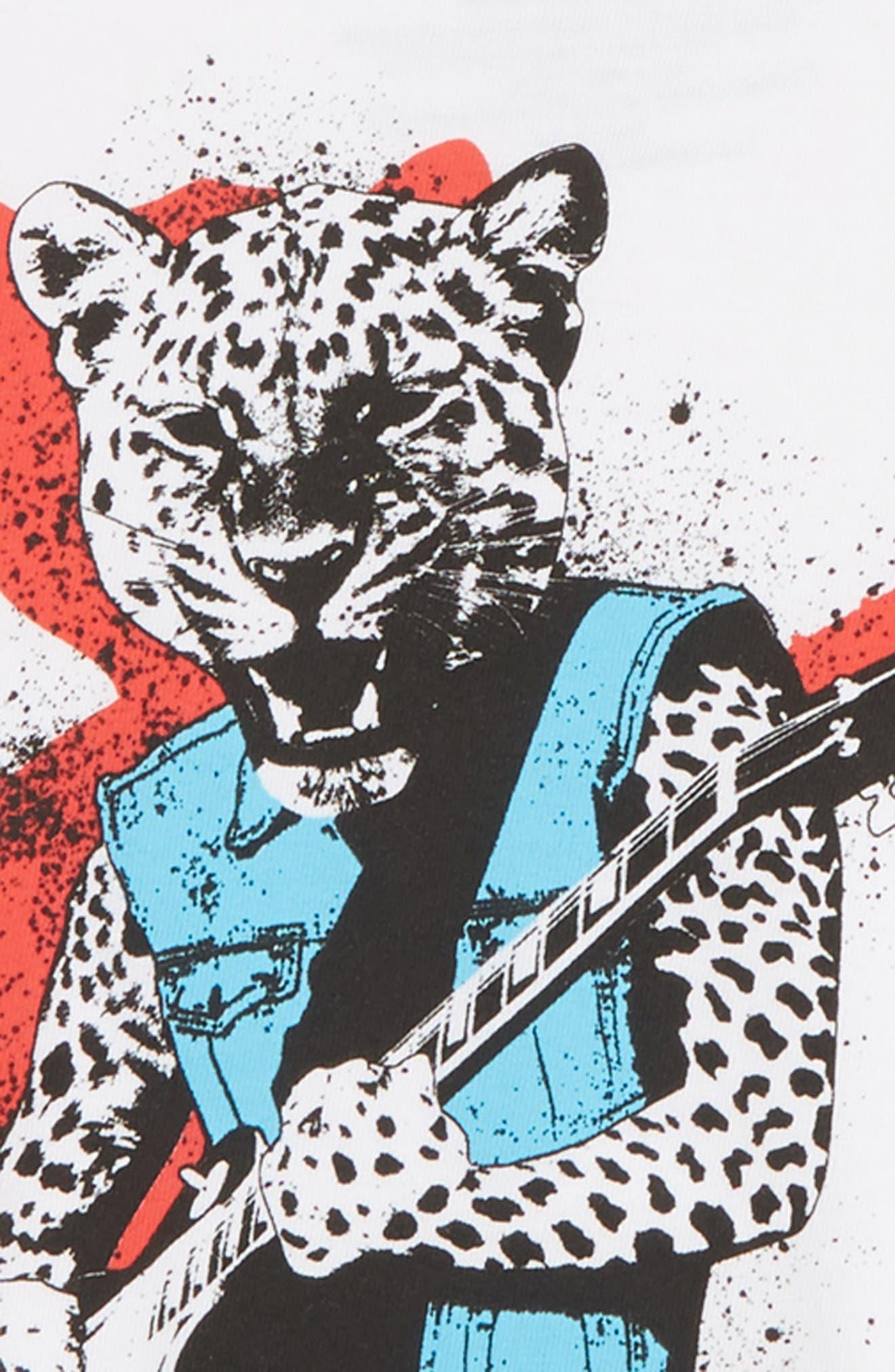 Jaguar Rock T-Shirt,                             Alternate thumbnail 2, color,                             WHITE