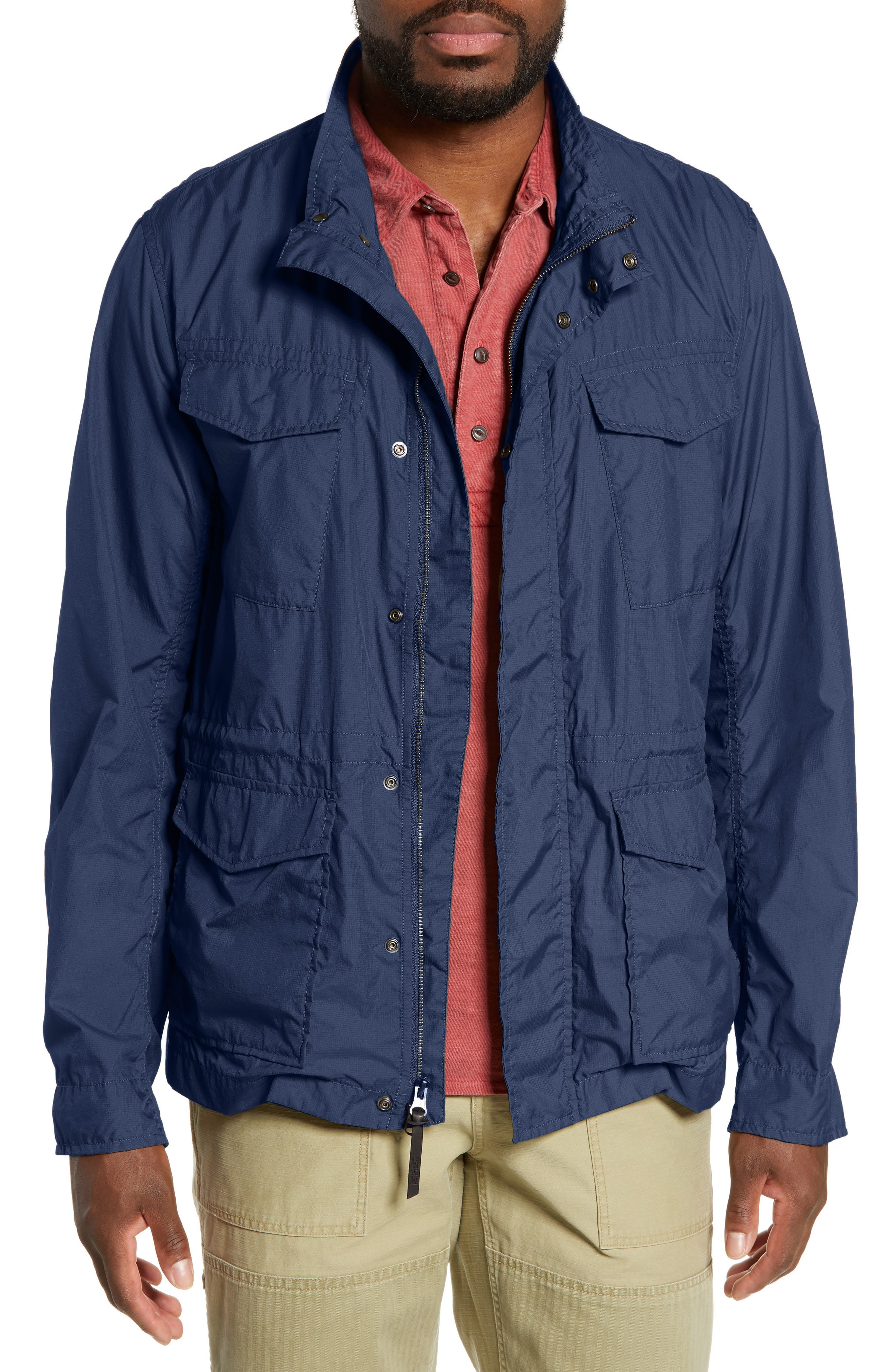 Woolrich Light Travel Jacket, Blue