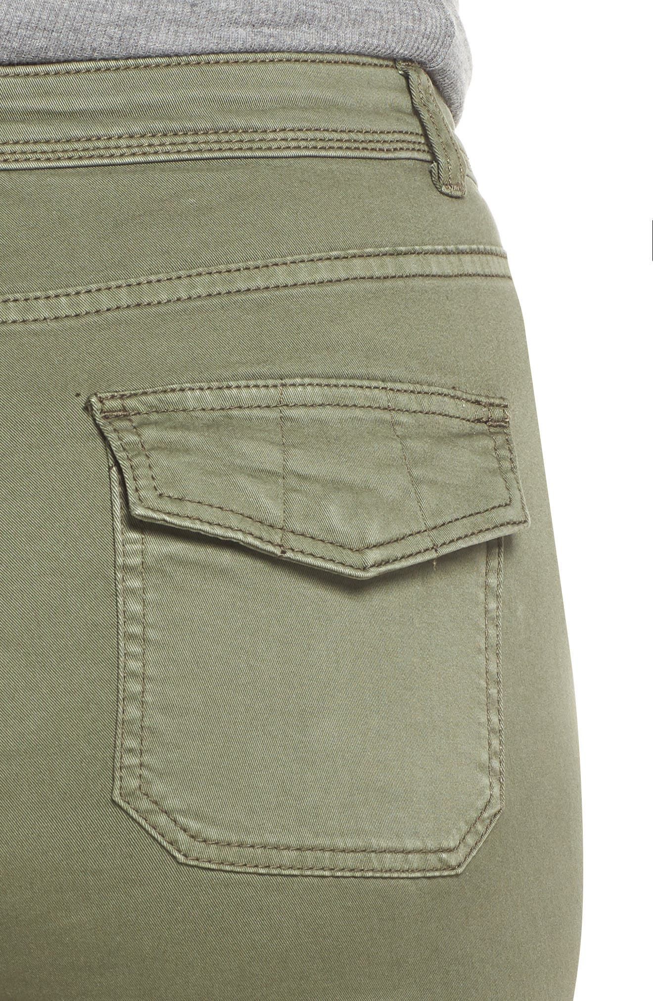 Stretch Twill Utility Pants,                             Alternate thumbnail 4, color,                             301