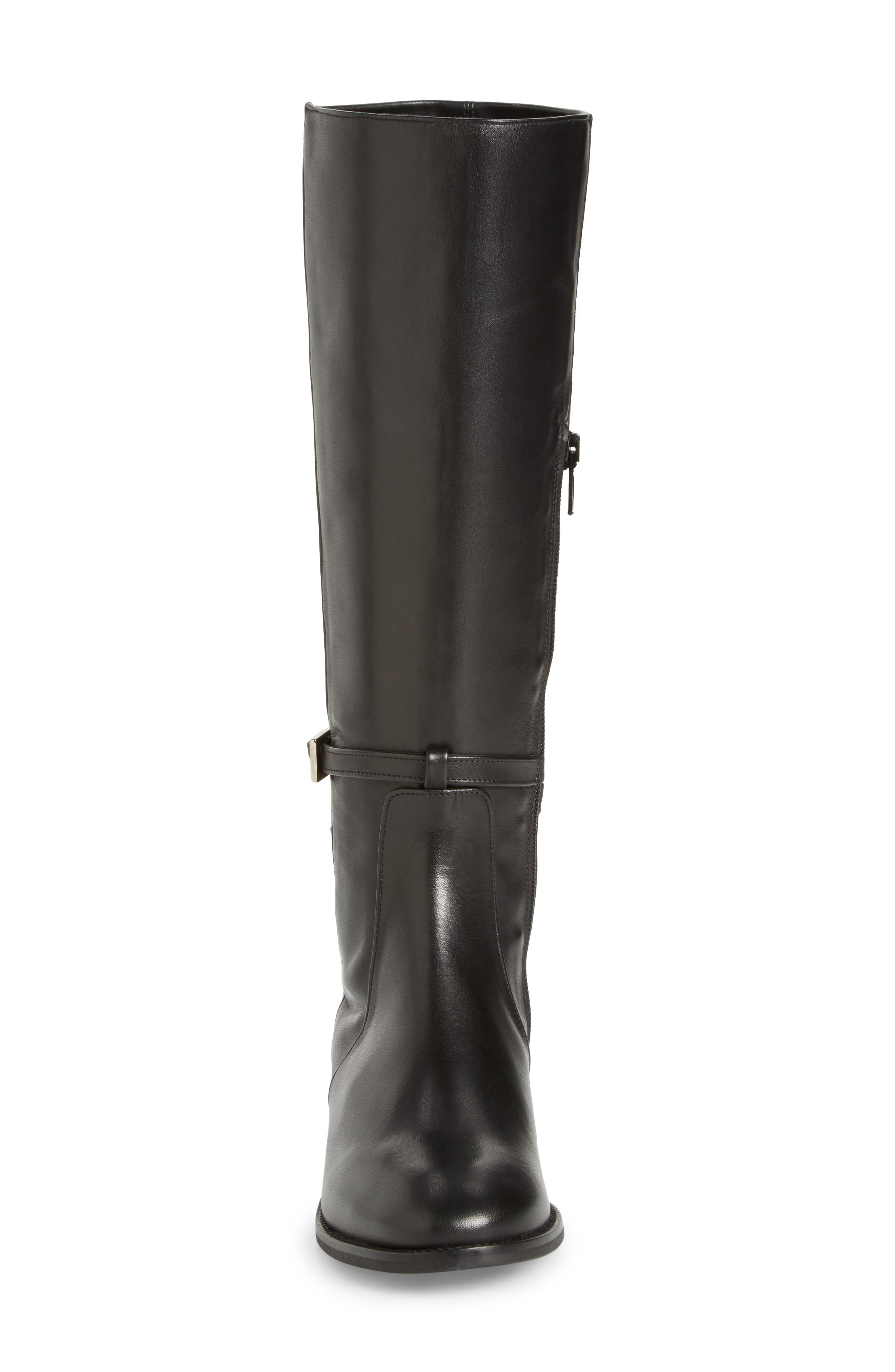 Royce Stretch Back Riding Boot,                             Alternate thumbnail 4, color,                             001