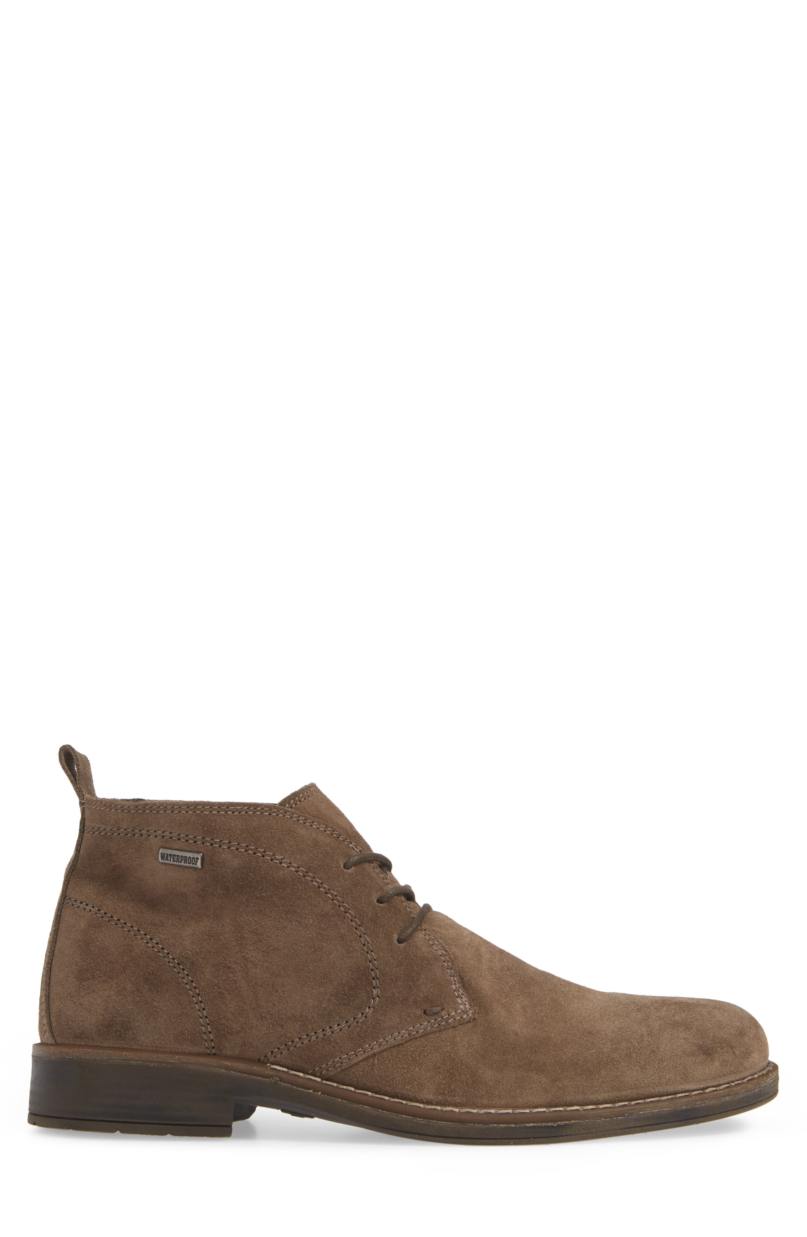 Stevens Waterproof Chukka Boot,                             Alternate thumbnail 3, color,                             TAUPE SUEDE