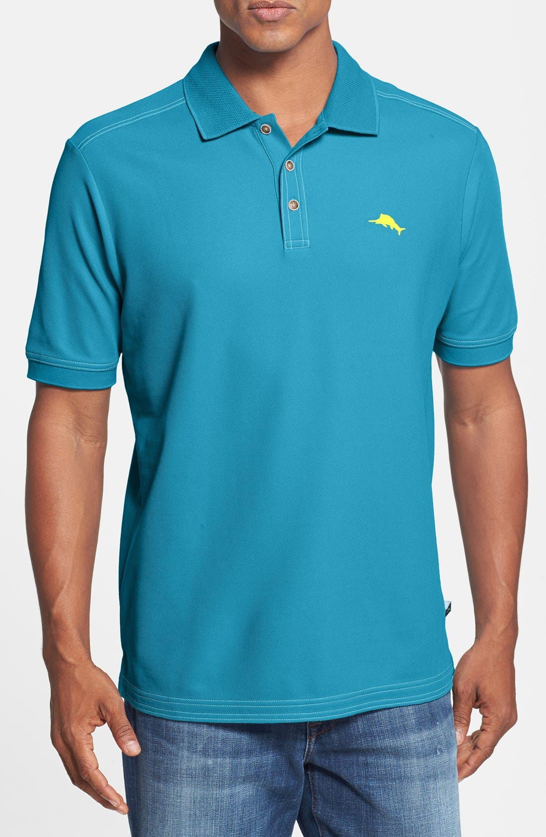 'The Emfielder' Original Fit Piqué Polo,                             Main thumbnail 66, color,