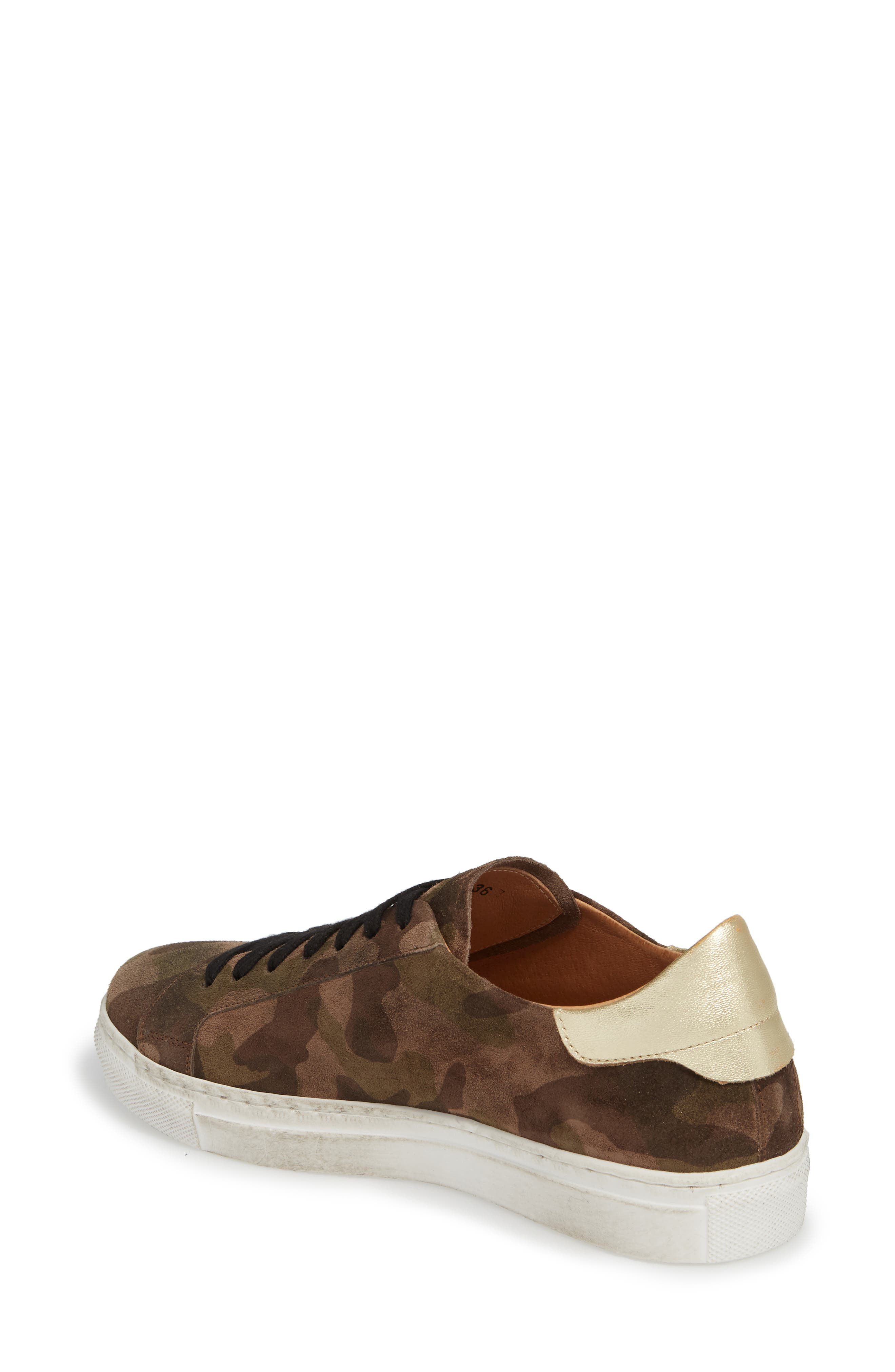 Orissa Sneaker,                             Alternate thumbnail 2, color,                             MILITARY PRINT SUEDE