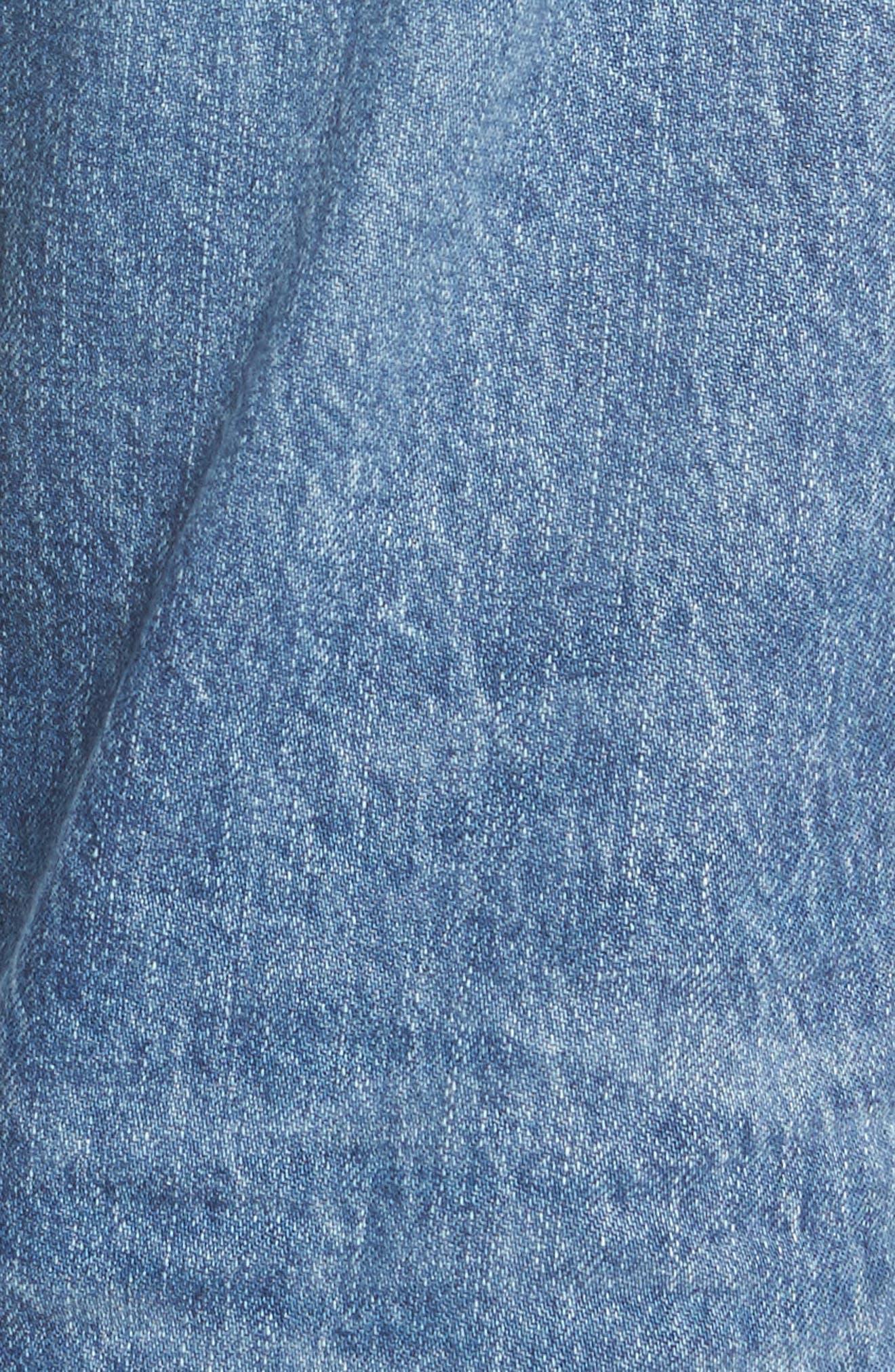 The Ex-Boyfriend Crop Slim Jeans,                             Alternate thumbnail 5, color,                             461
