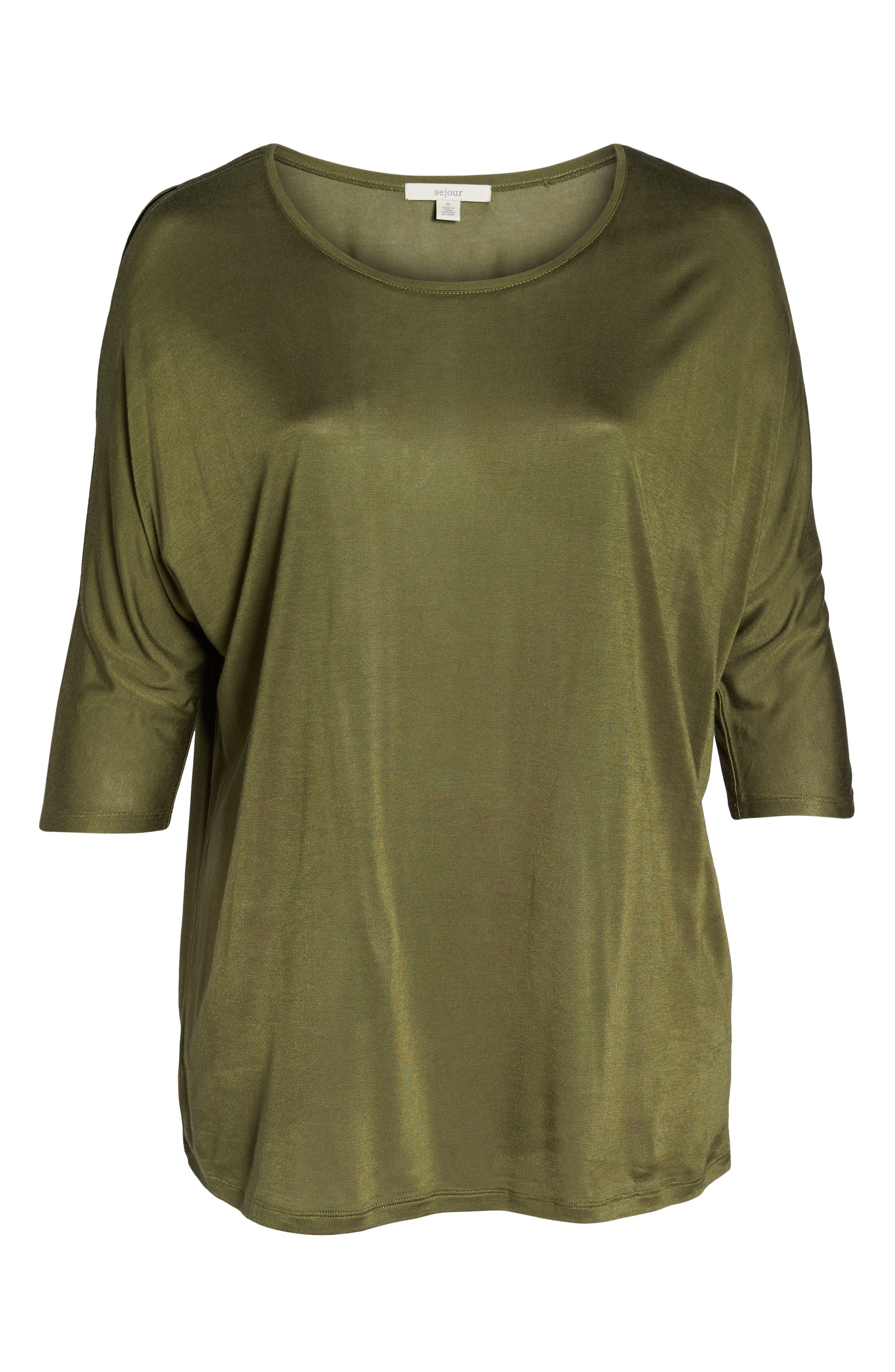 Slit Sleeve Top,                             Alternate thumbnail 25, color,