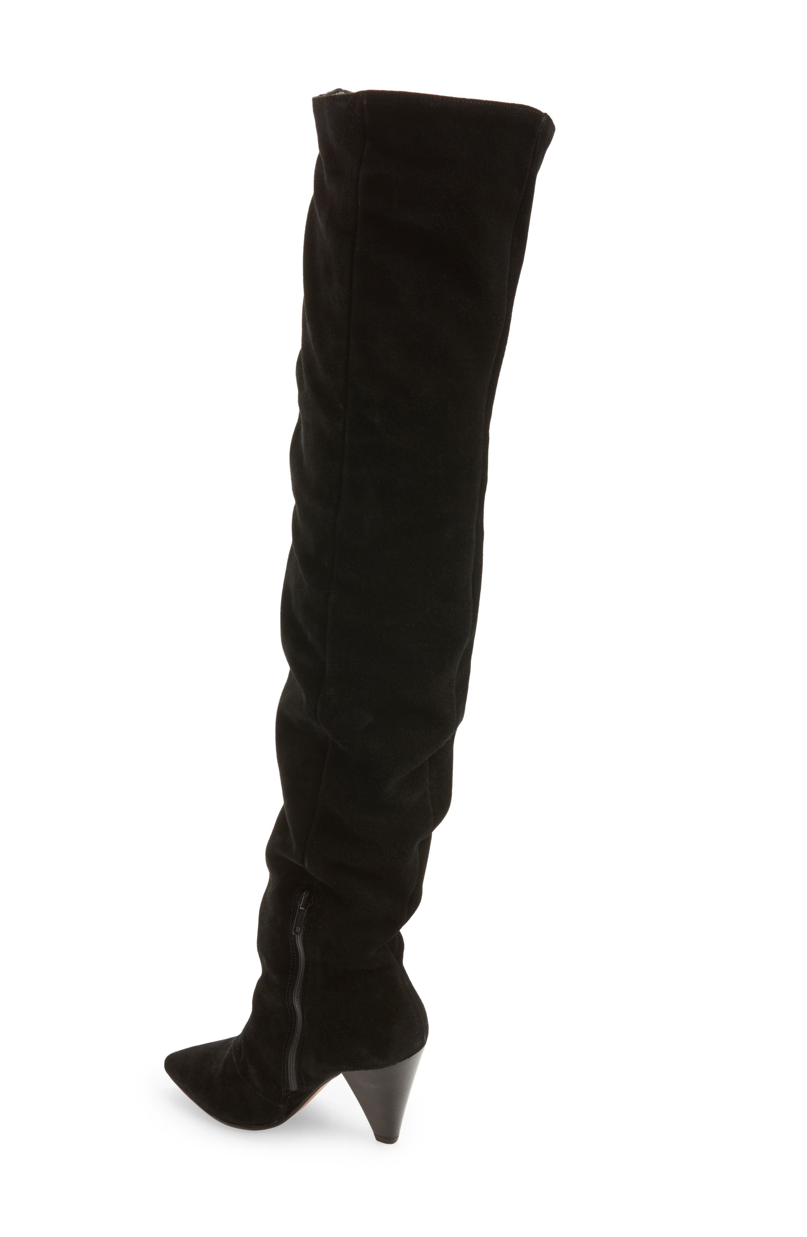 Boxer Thigh High Boots,                             Alternate thumbnail 2, color,                             001