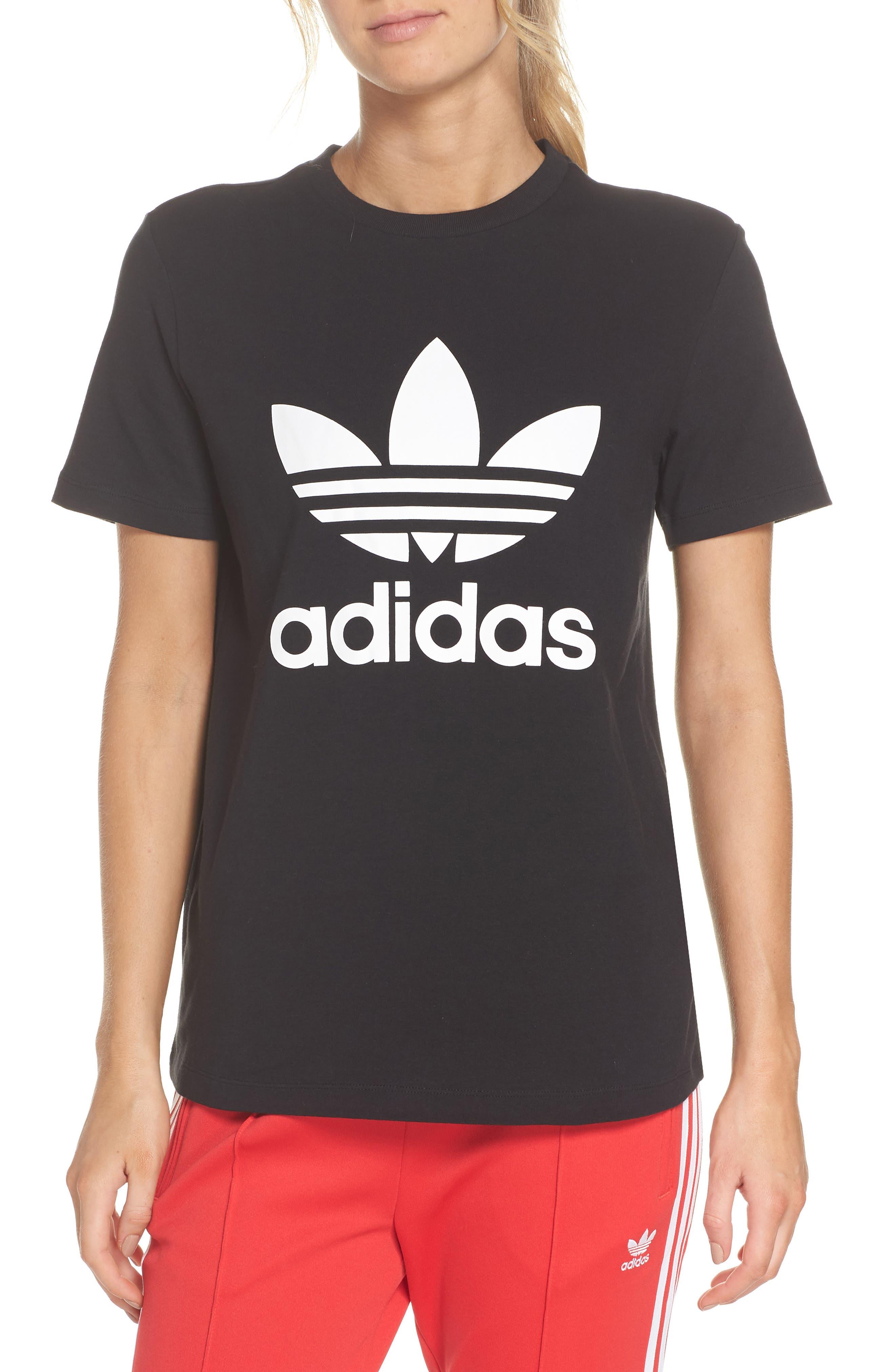 Adidas Trefoil Tee, Black