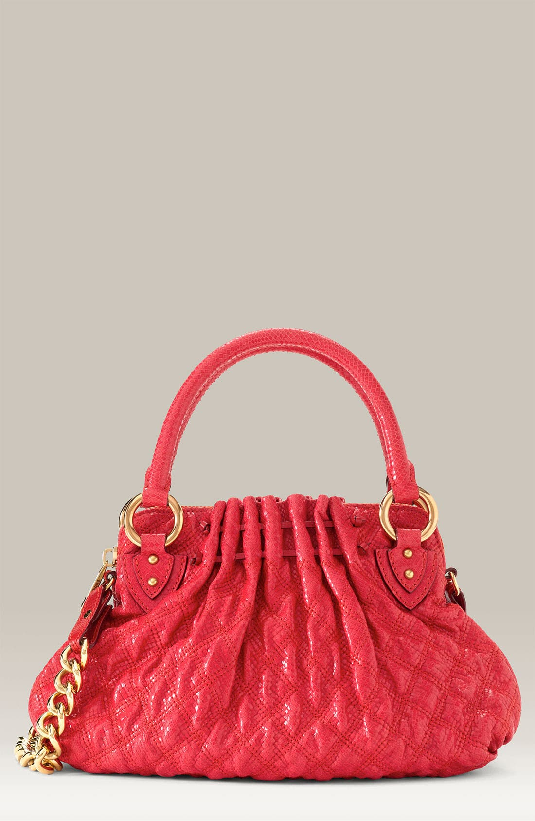 'Cecilia - Small' Quilted Leather Bag,                             Main thumbnail 3, color,