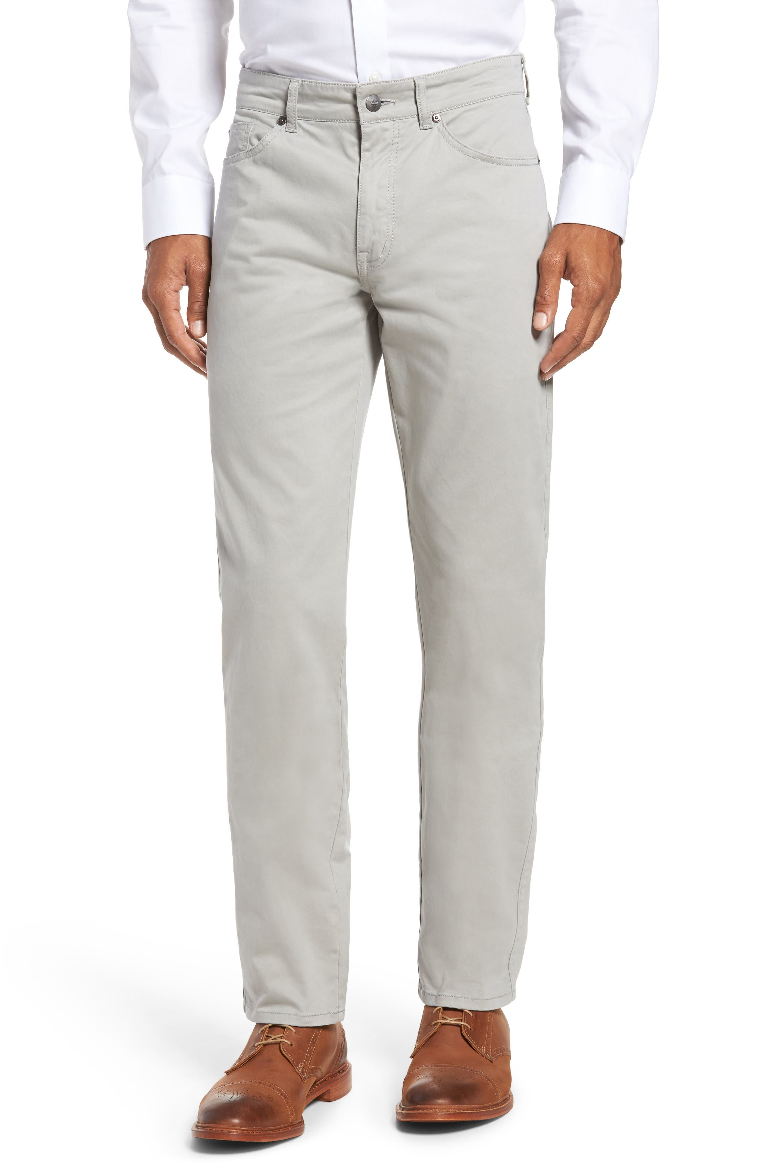 Stretch Sateen Five-Pocket Pants,                             Main thumbnail 1, color,                             050