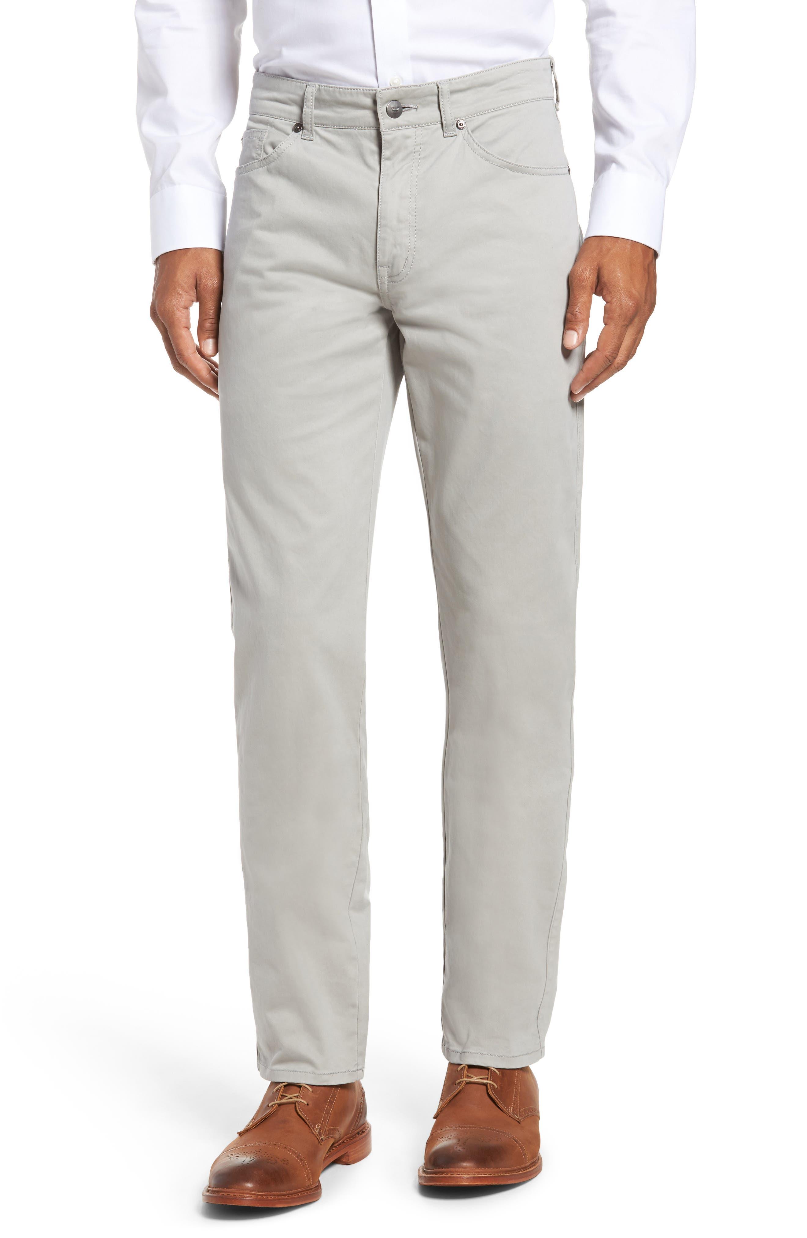Stretch Sateen Five-Pocket Pants,                         Main,                         color, 050