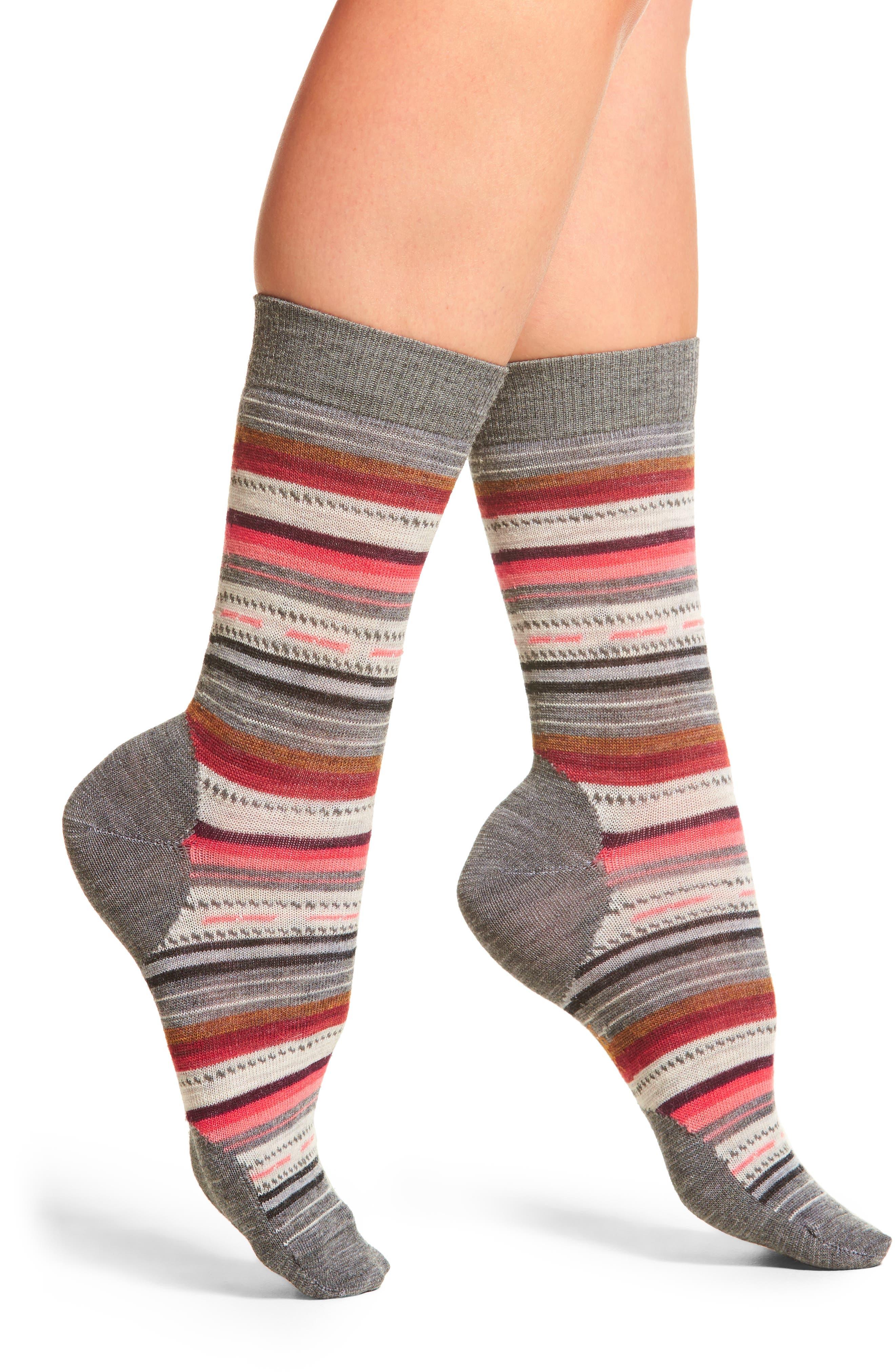 Margarita Crew Socks,                         Main,                         color, 020