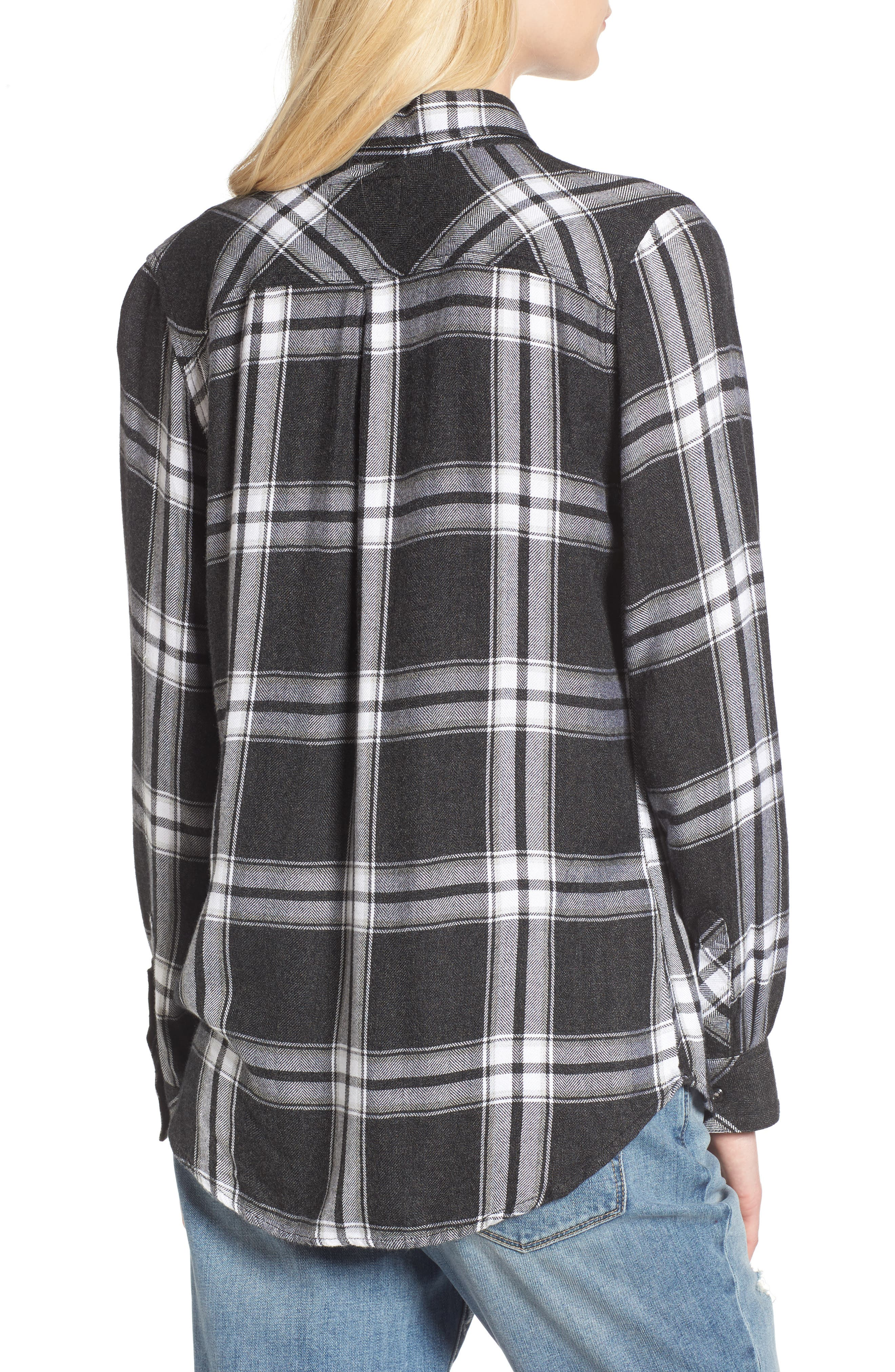 Hunter Plaid Shirt,                             Alternate thumbnail 159, color,