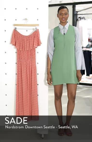 Marissa Floral Print Off the Shoulder Dress, sales video thumbnail