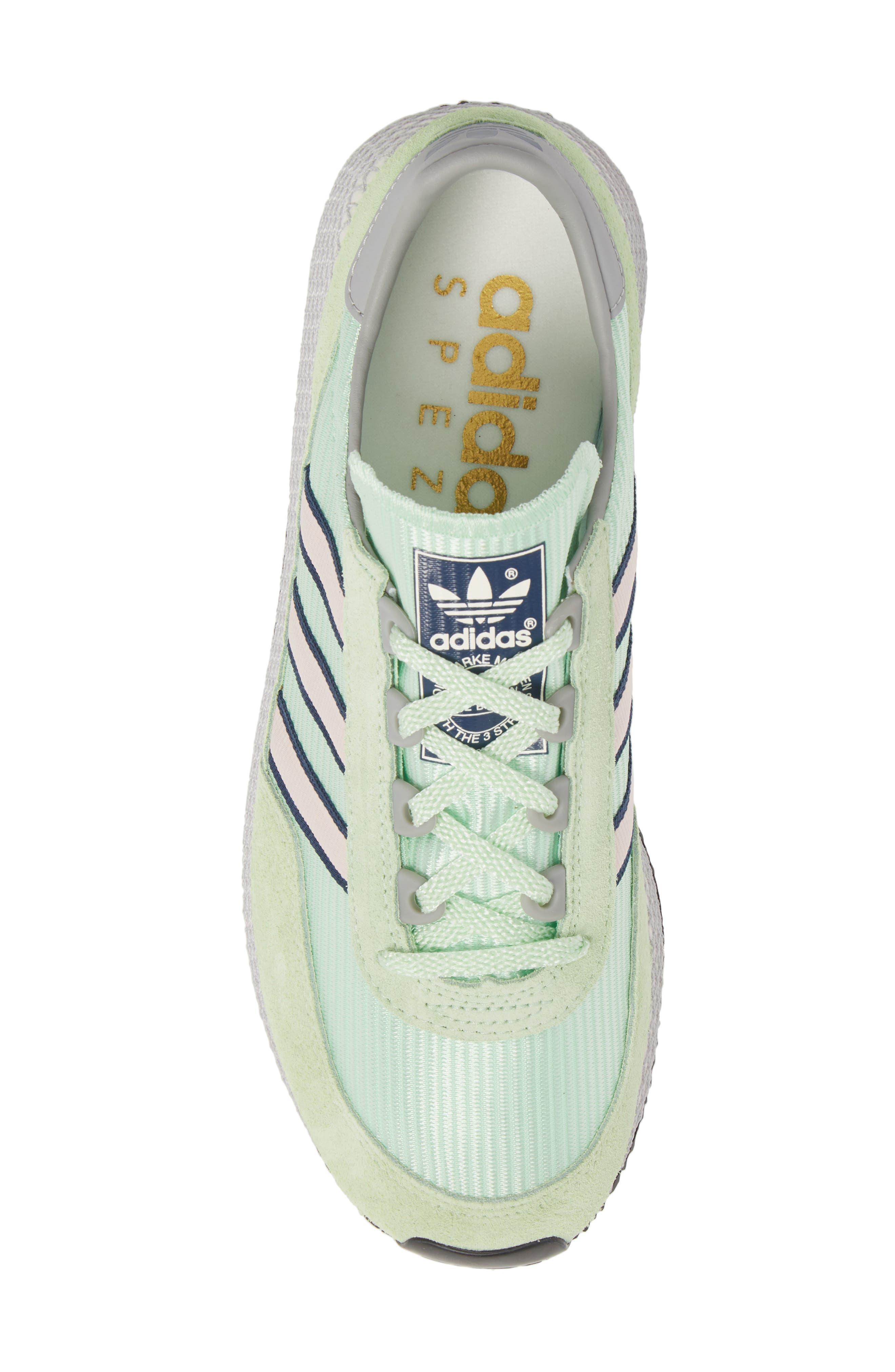 Glenbuck SPZL Sneaker,                             Alternate thumbnail 5, color,                             GREEN