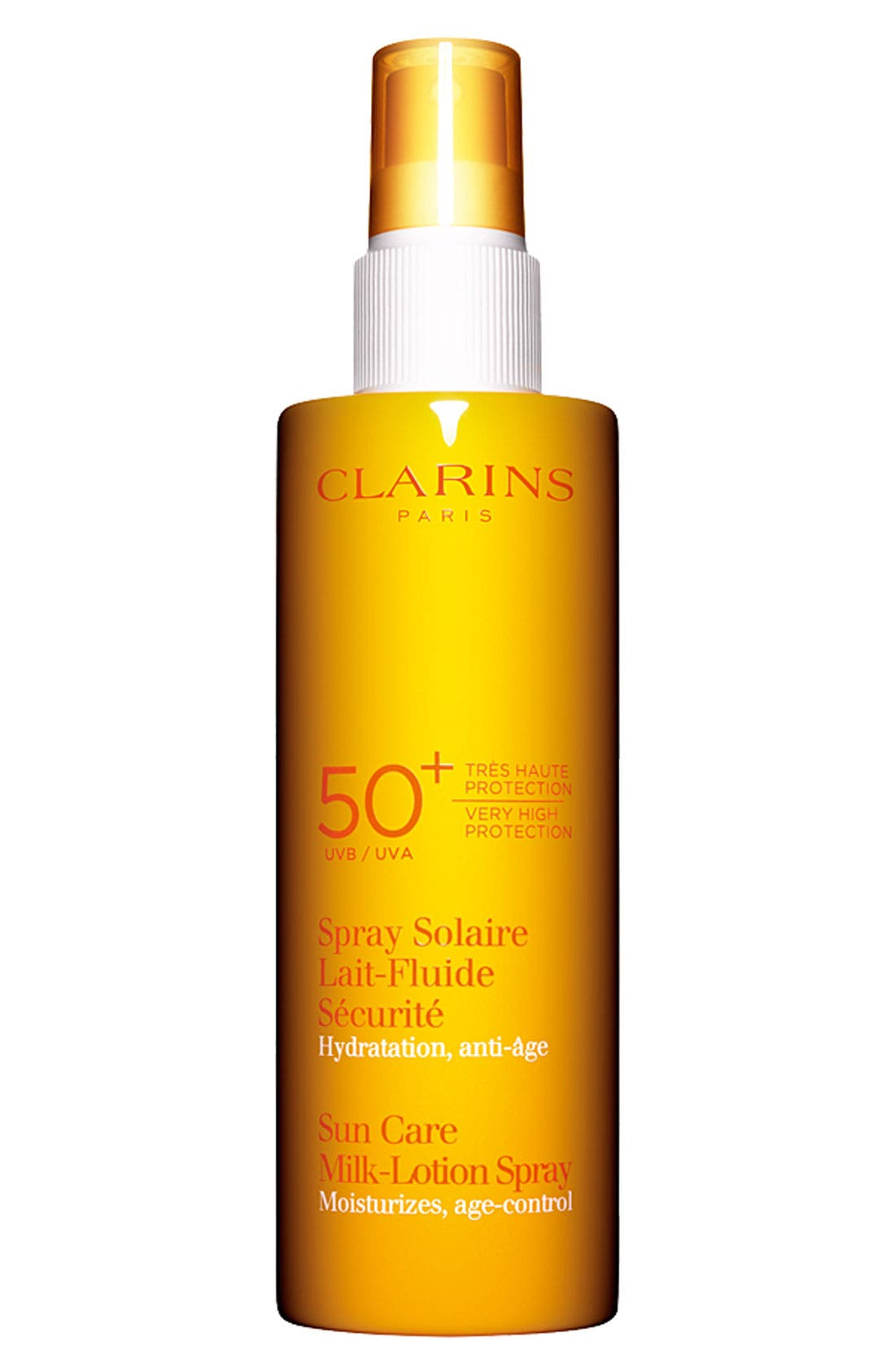 Sun Care Milk-Lotion Spray SPF 50+,                             Main thumbnail 1, color,                             NO COLOR
