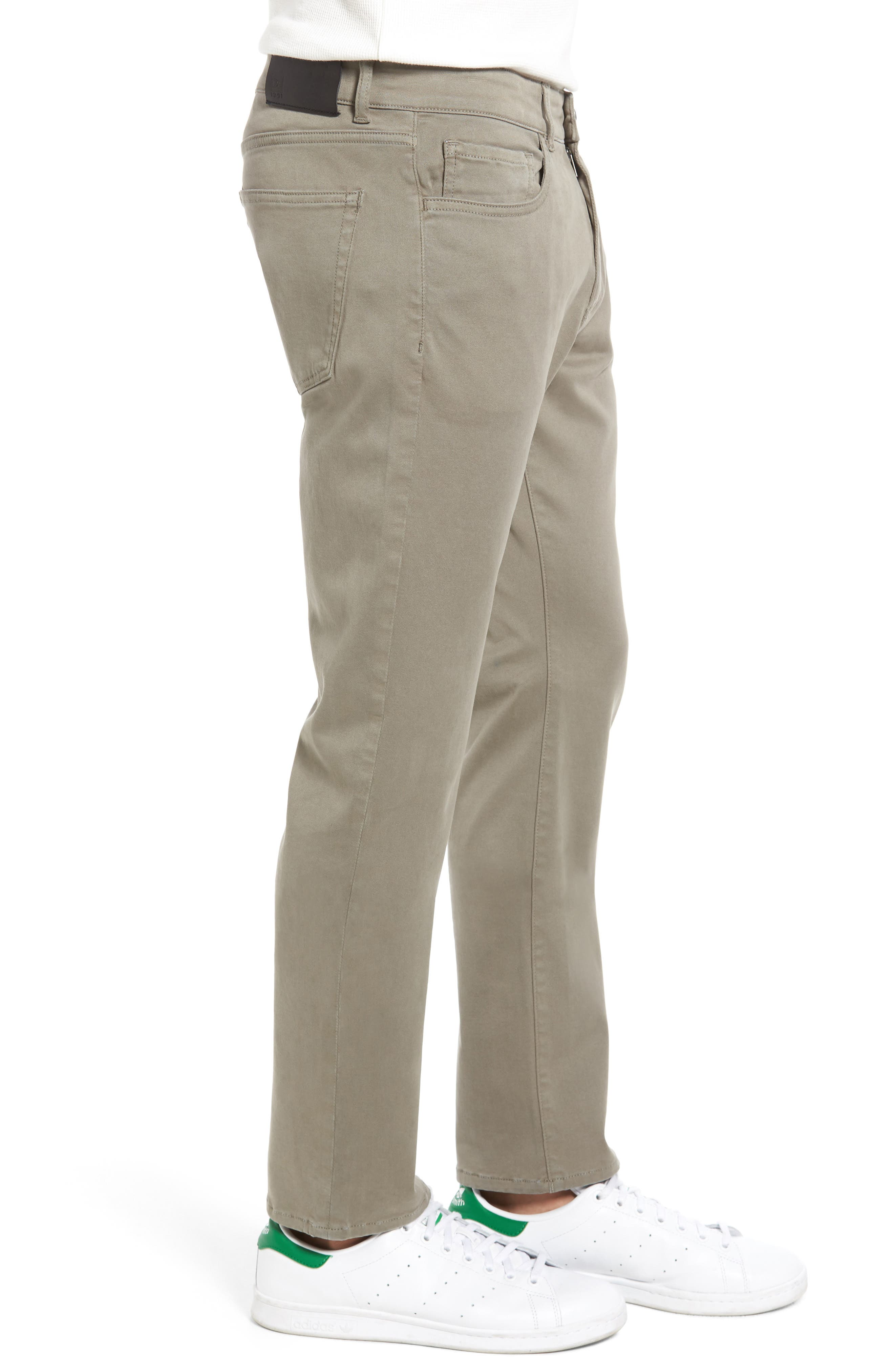 Russell Slim Fit Sateen Twill Pants,                             Alternate thumbnail 29, color,