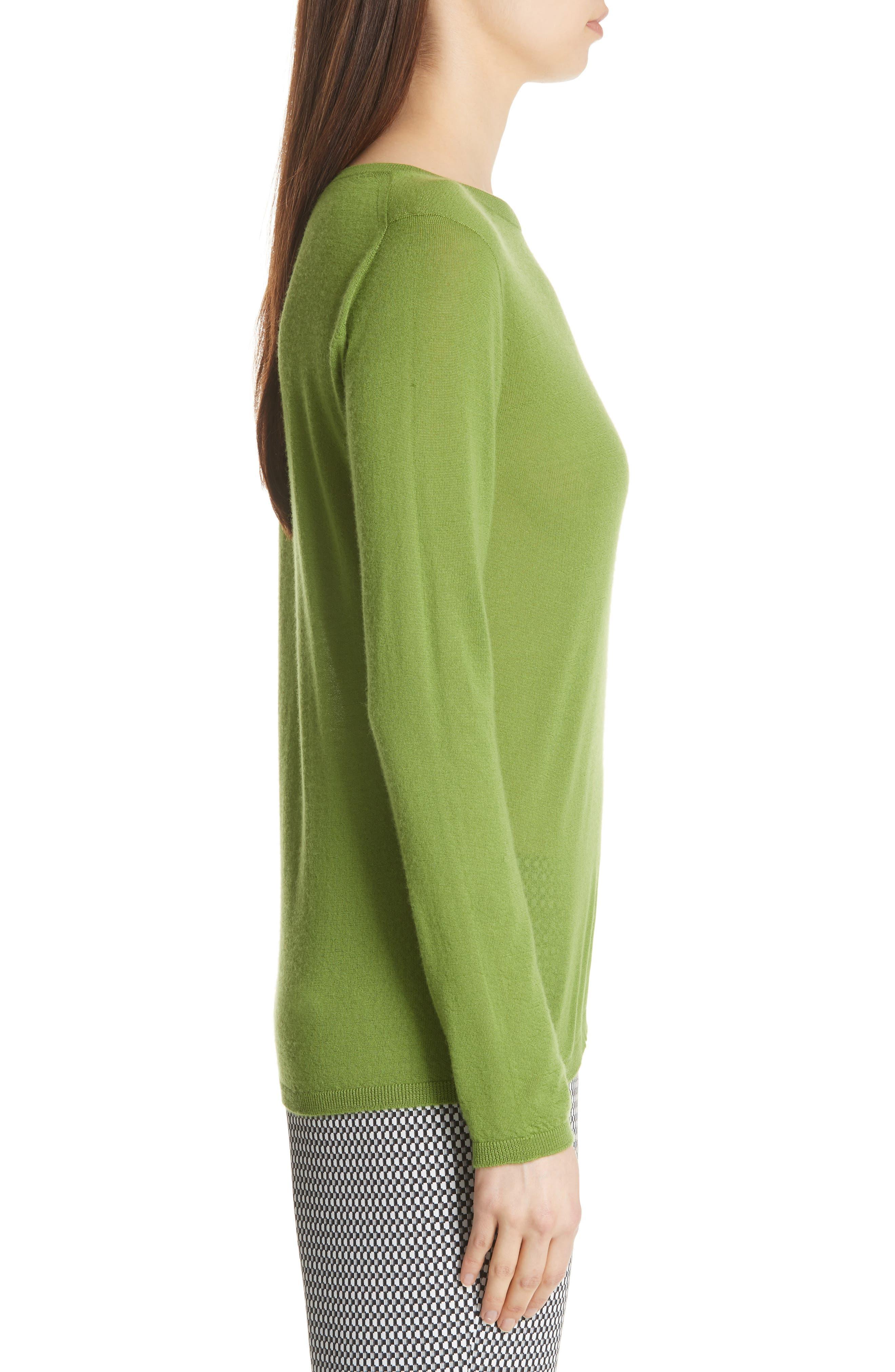 MAX MARA,                             Charles Cashmere Sweater,                             Alternate thumbnail 3, color,                             314