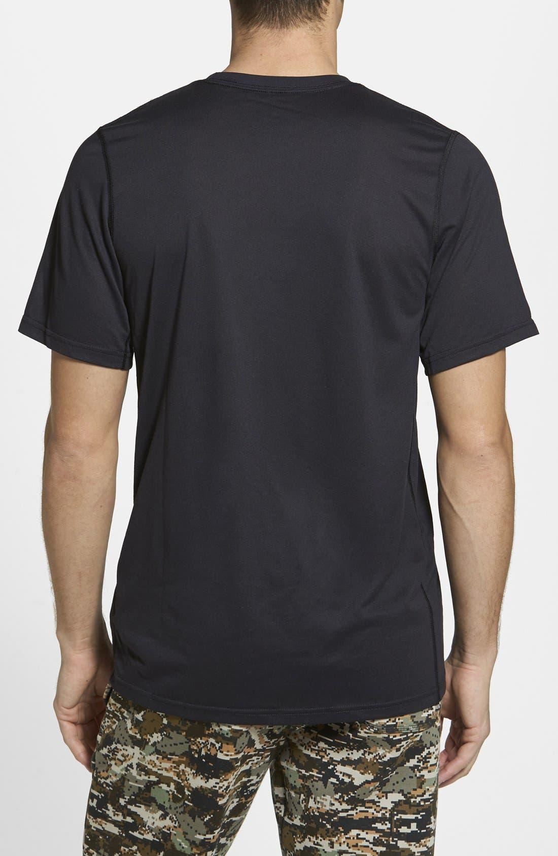 'Legend - Every Damn Day' Dri-FIT Basketball T-Shirt,                             Alternate thumbnail 2, color,                             010
