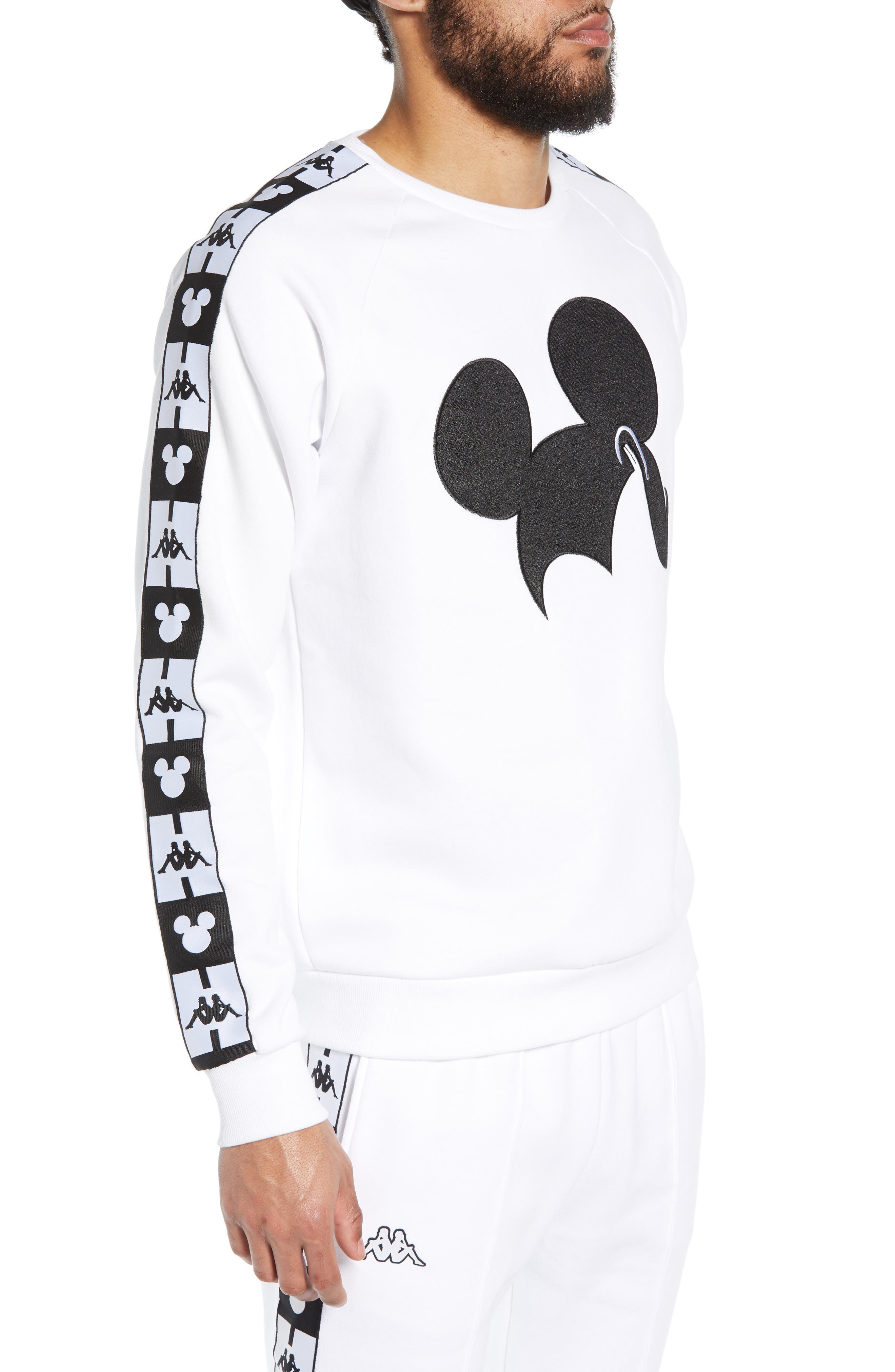 KAPPA,                             x Disney<sup>®</sup> Authentic Audley Sweatshirt,                             Alternate thumbnail 3, color,                             100