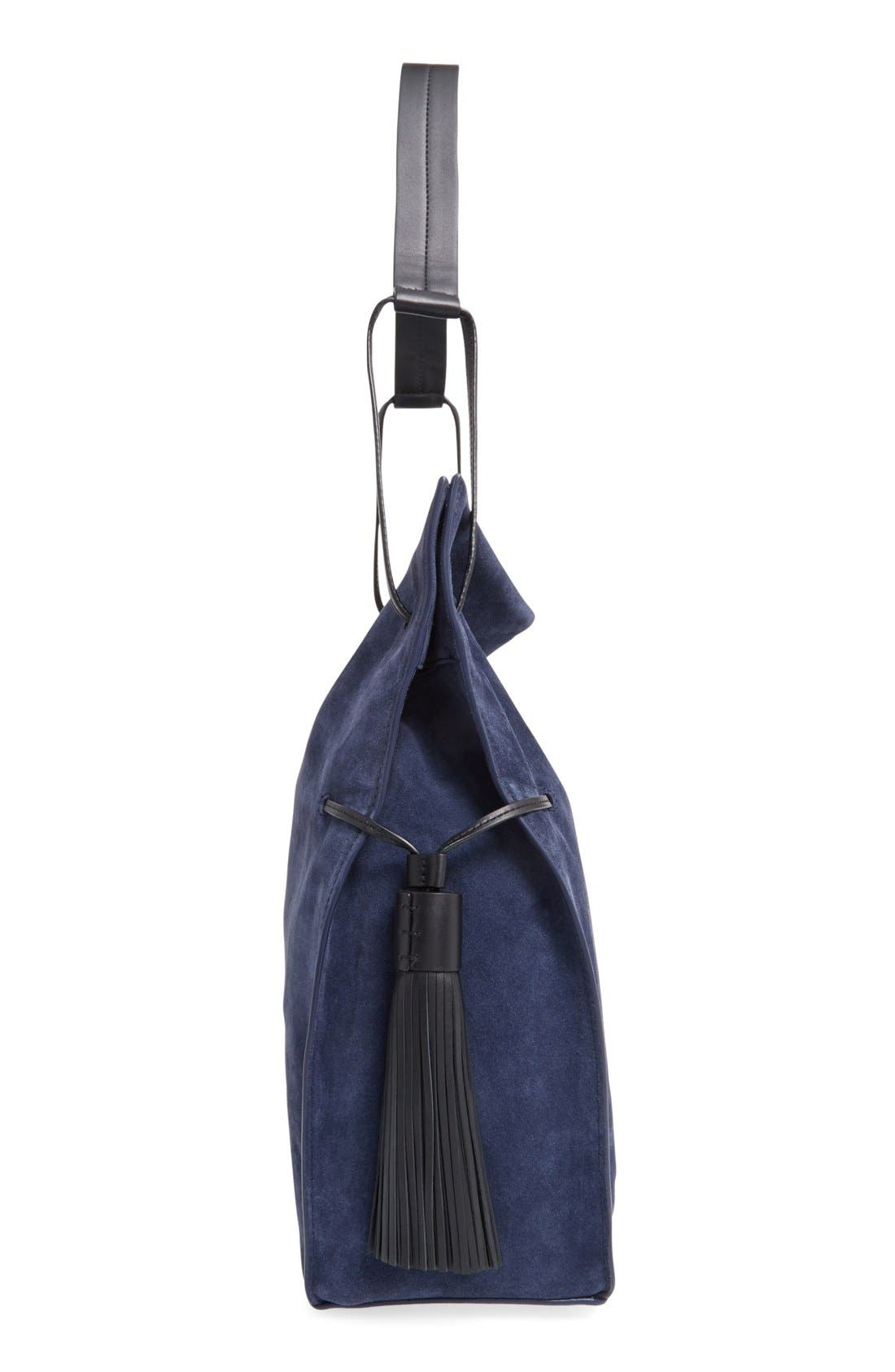 Freedom Suede Hobo,                             Main thumbnail 7, color,